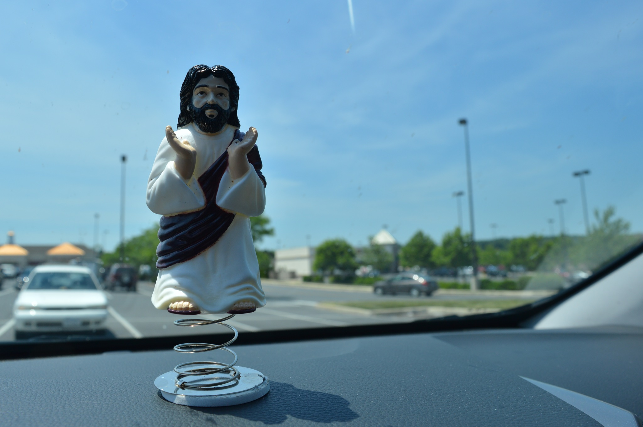 Dashboard Jesus by kookmutsen.com