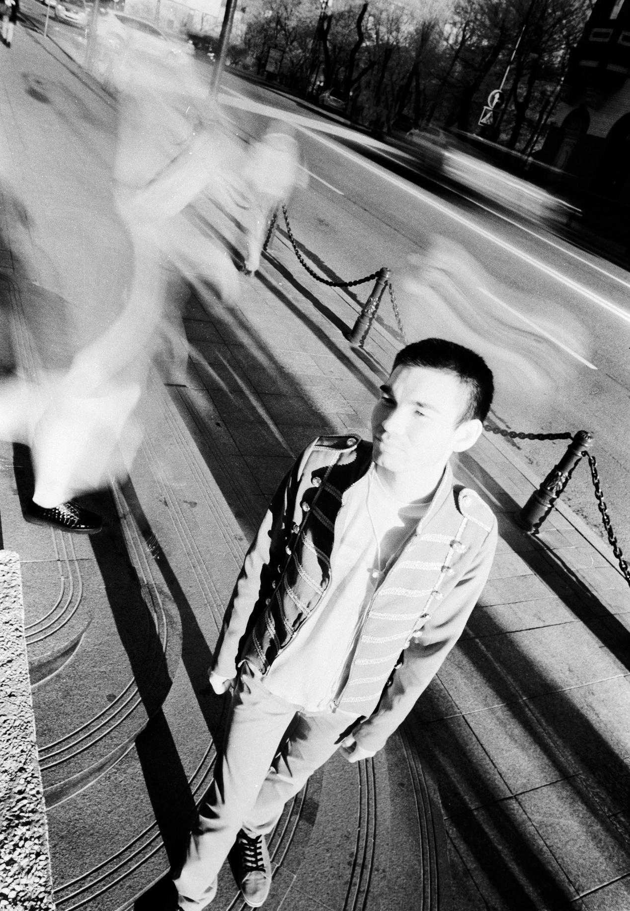 Photo in Portrait #man #infrared #rollei retro 80s
