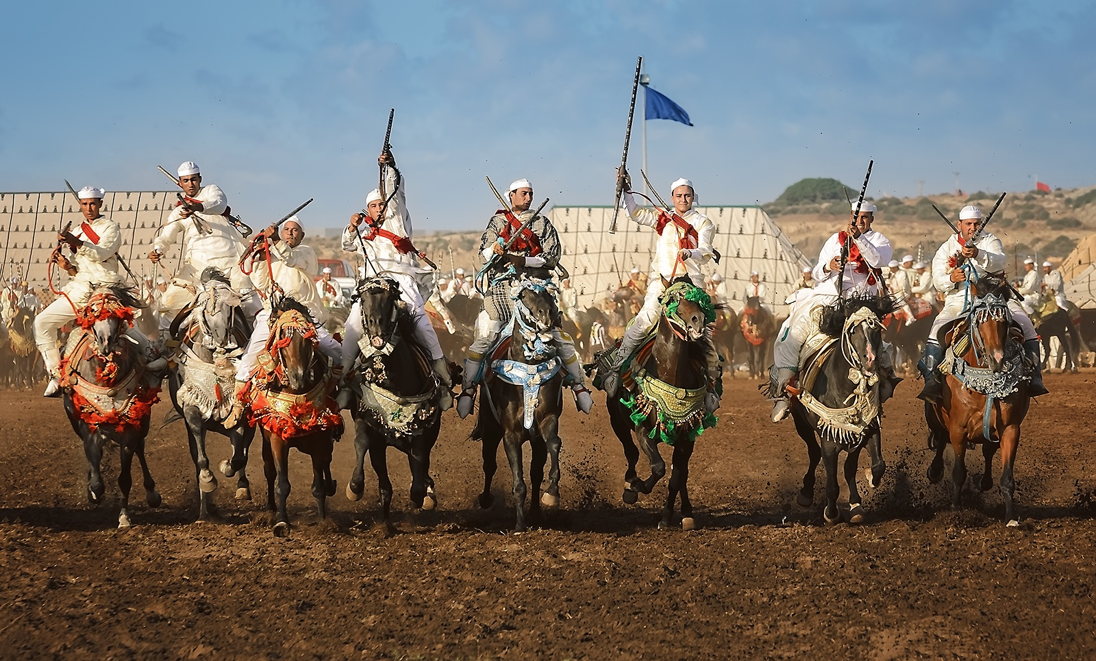 Photo in Travel #travel #travel photography #morocco #maroc #people #faces #action photography #barb horses #horses #moroccan horses #clouds #africa #north africa #moroccan #berber people #arab people