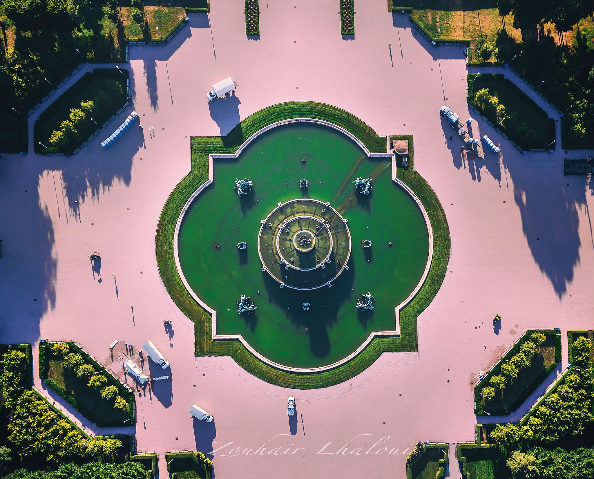 Buckingham fountain by Zouhair Lhaloui
