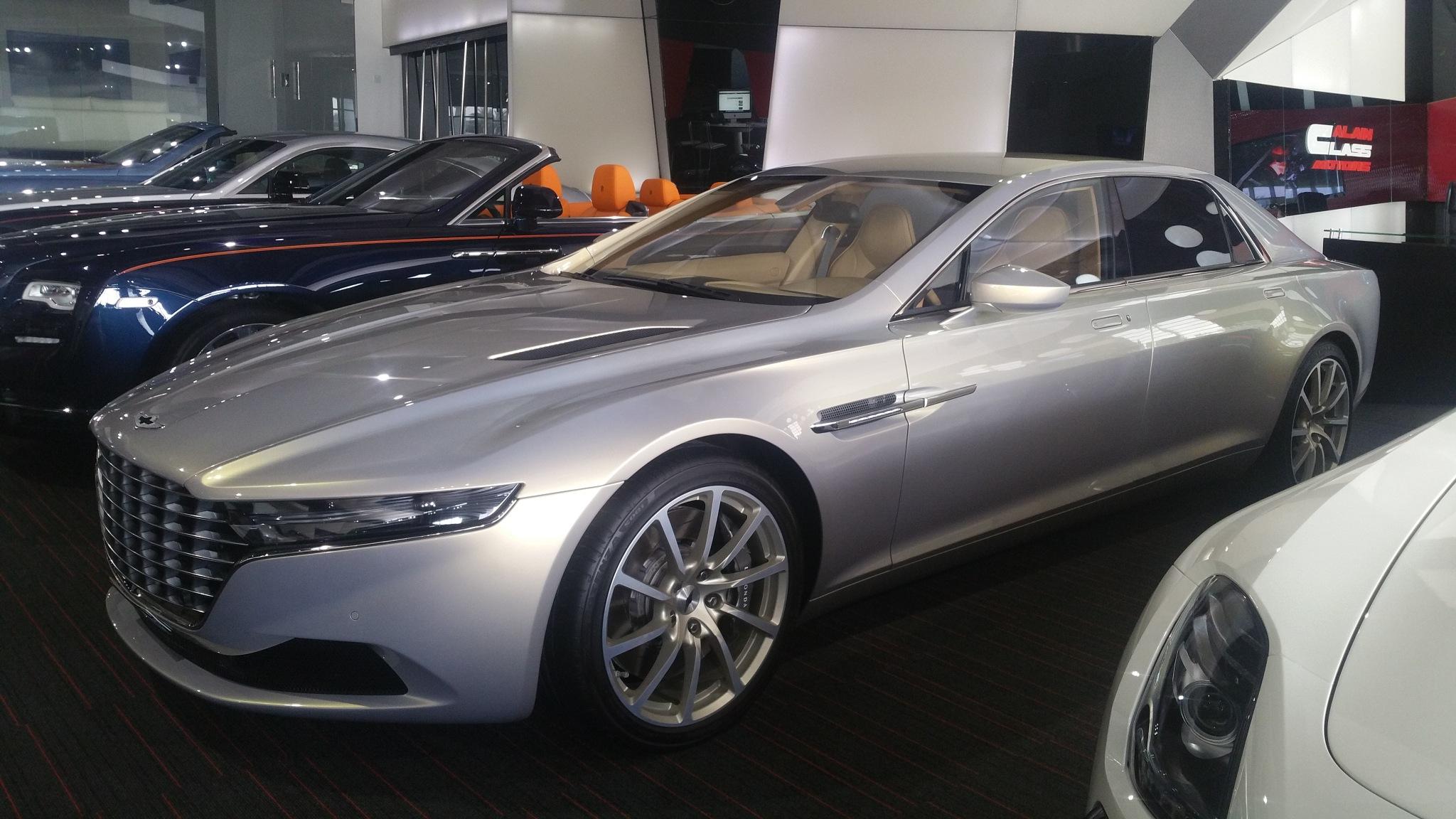Aston Martin Lagonda Taraf by Haseeb Ahmed