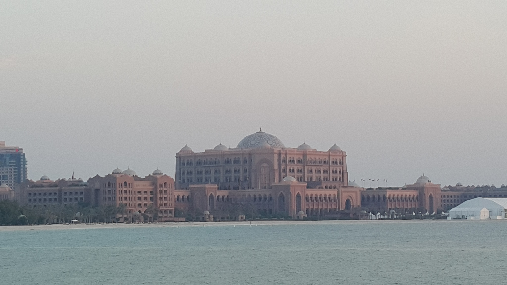 The Emirates Palace Hotel by Haseeb Ahmed