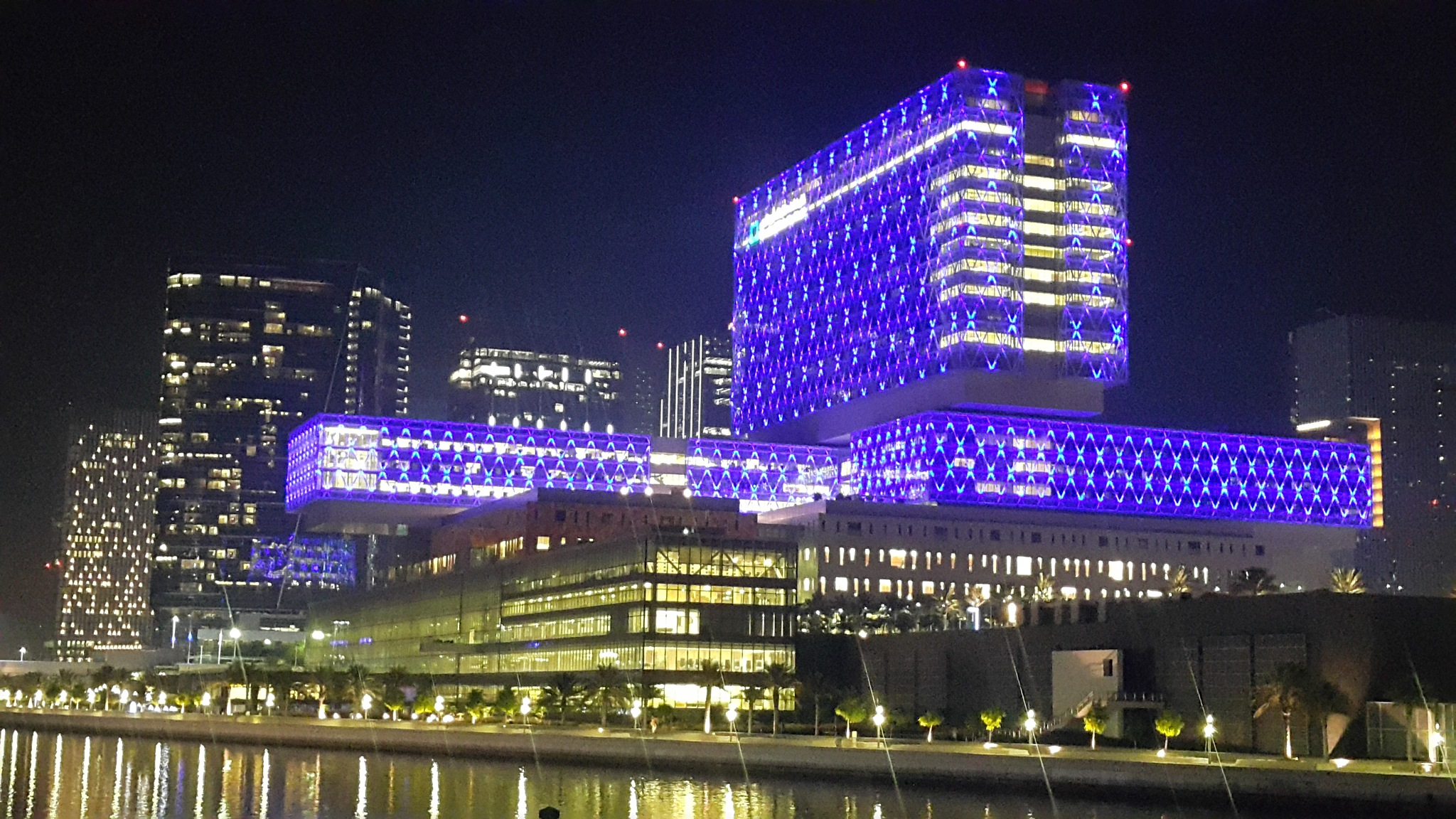 The Cleveland Clinic in Abu Dhabi  by Haseeb Ahmed