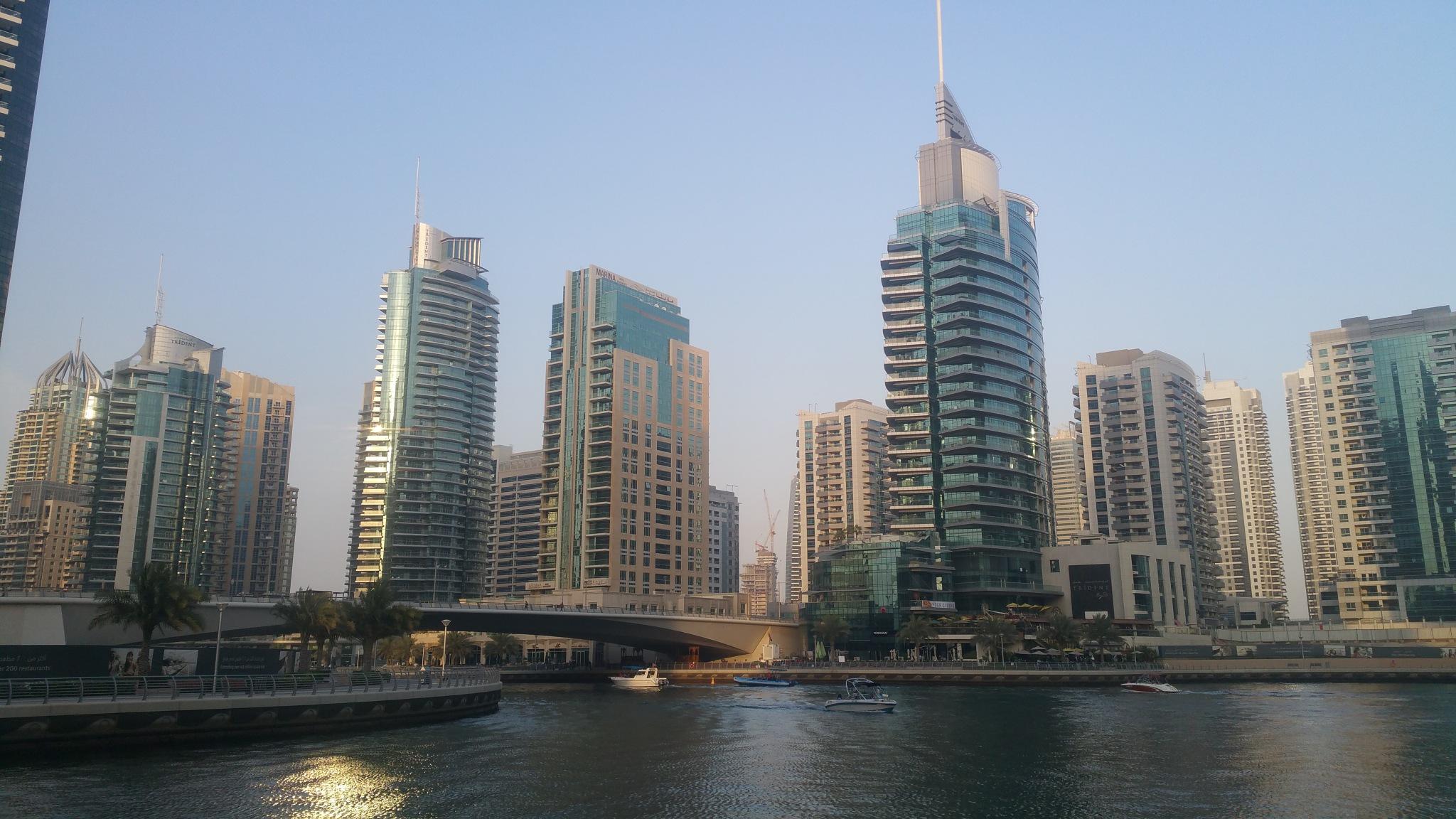 Dubai Marina by Haseeb Ahmed