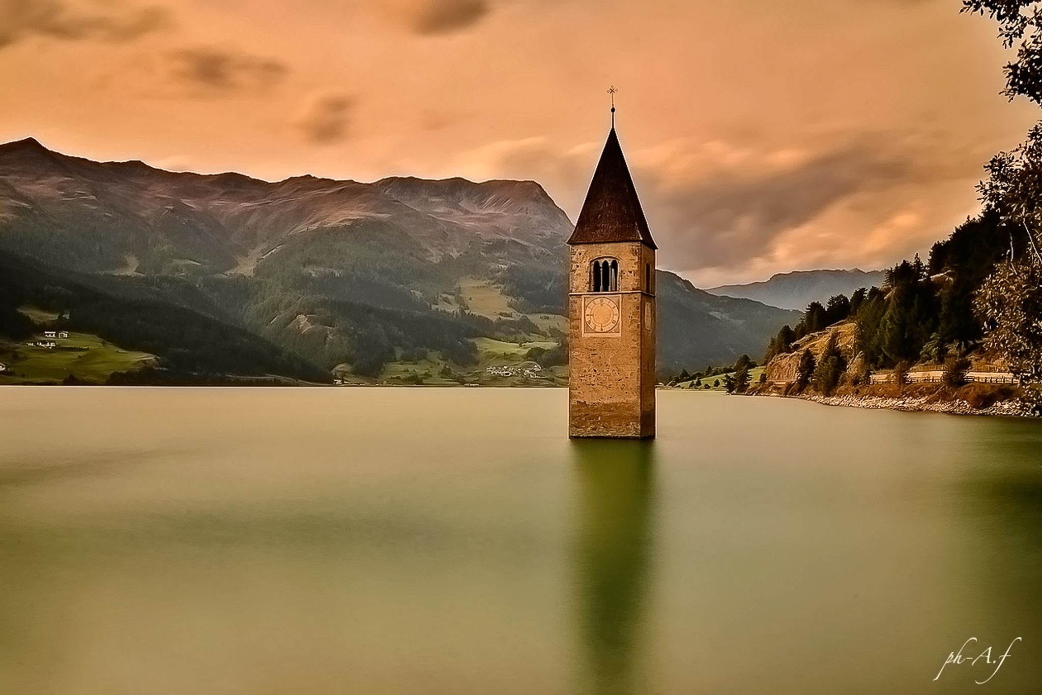 Lago di resia by antoninofirriolo12