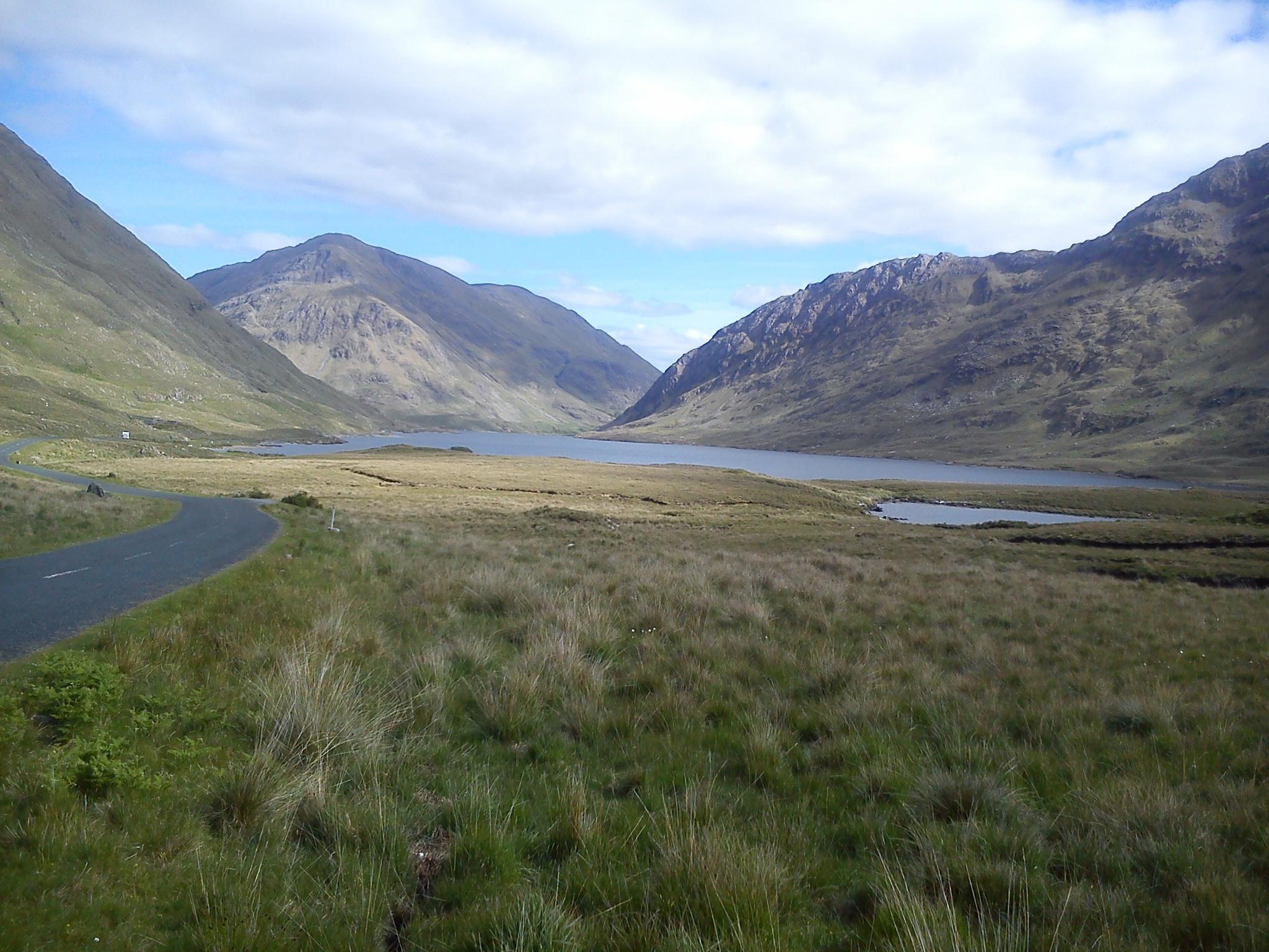 Doo Lough Pass, Co Mayo, Ireland by Gunnerman85