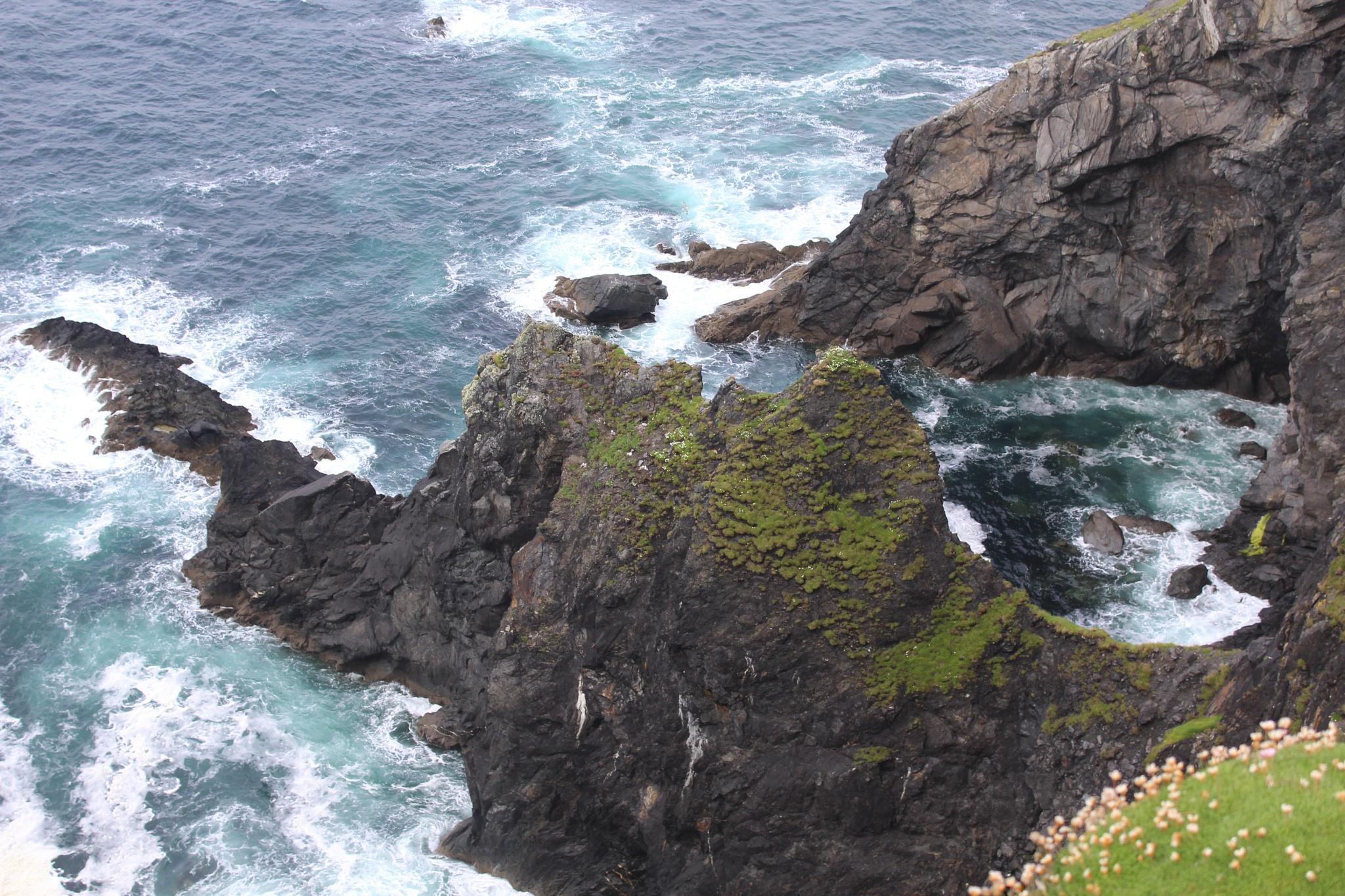 Cliffs on Clare Island, Ireland by Gunnerman85