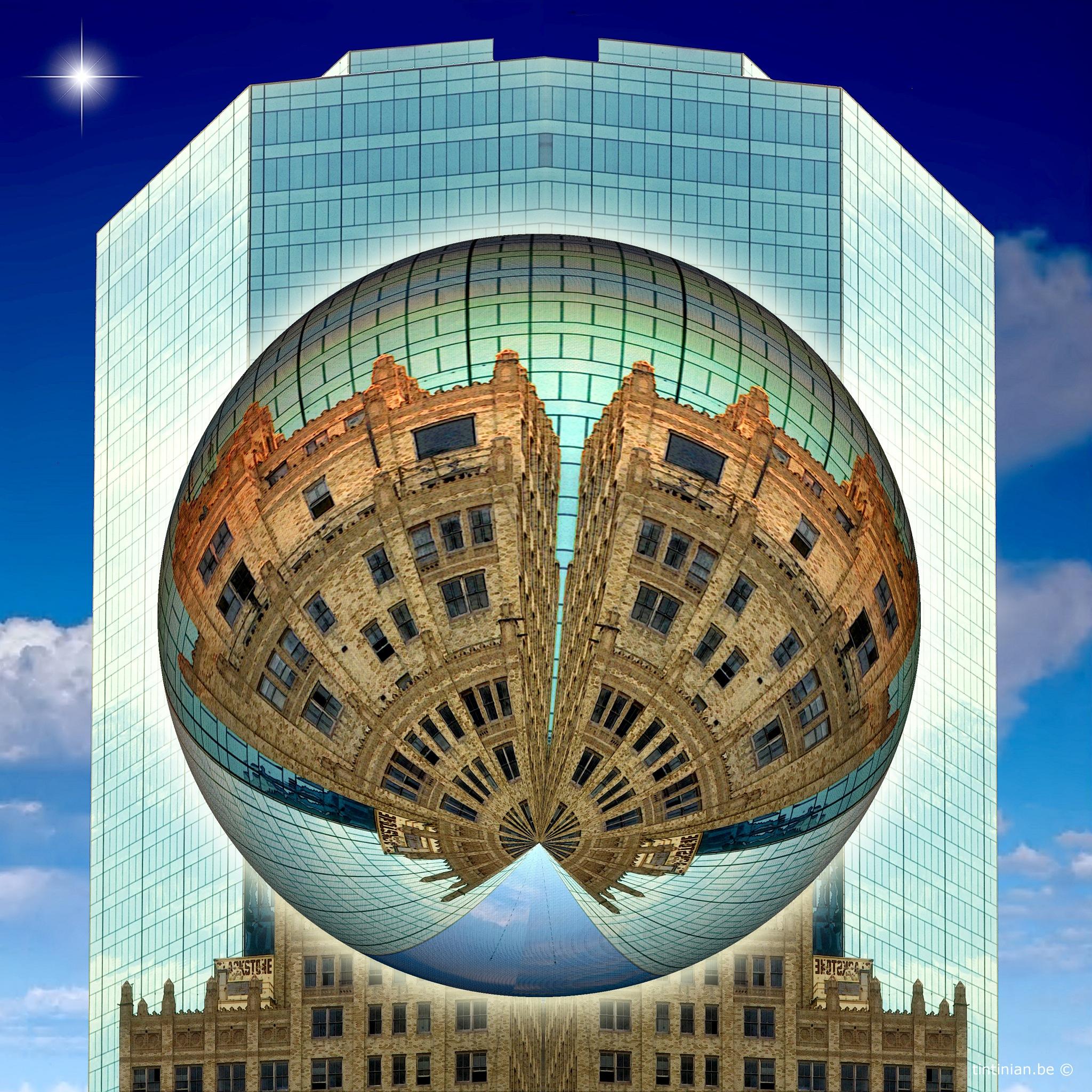 Cityscape by Etienne de Maeyer