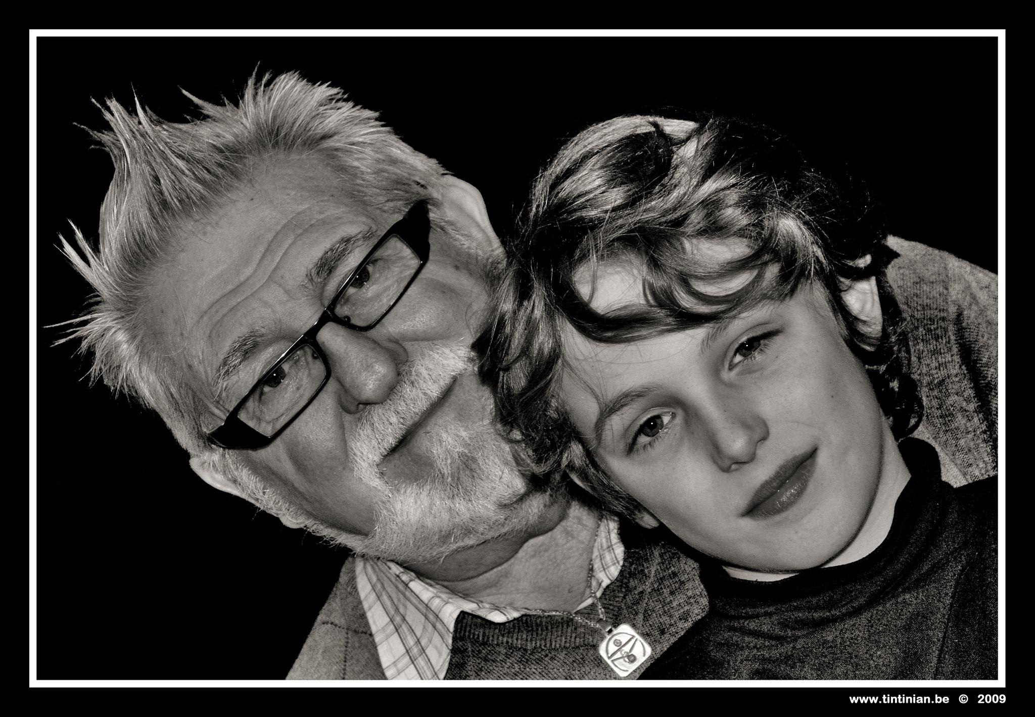 Grandfather & Grandson by Etienne de Maeyer