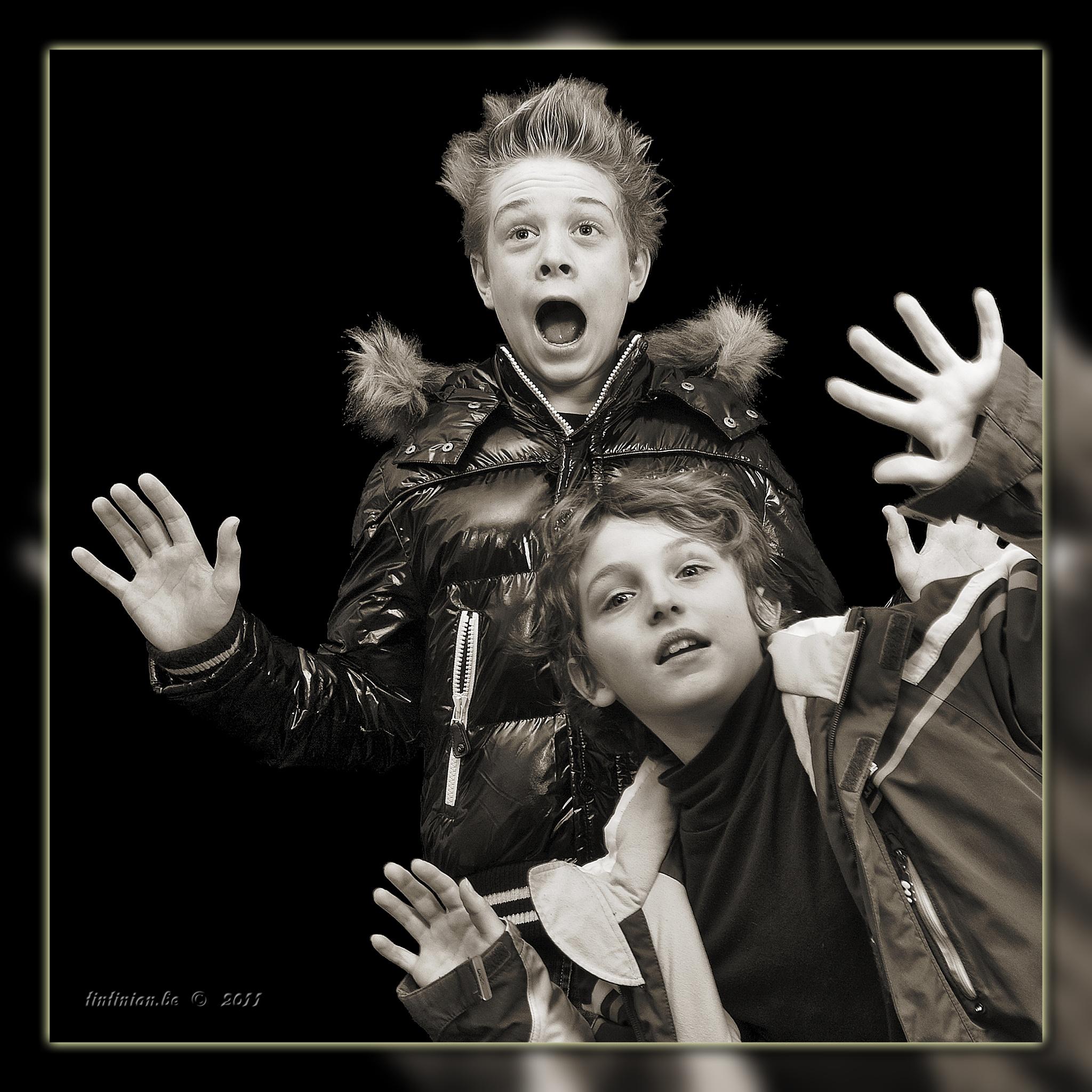 2 Grandsons by Etienne de Maeyer
