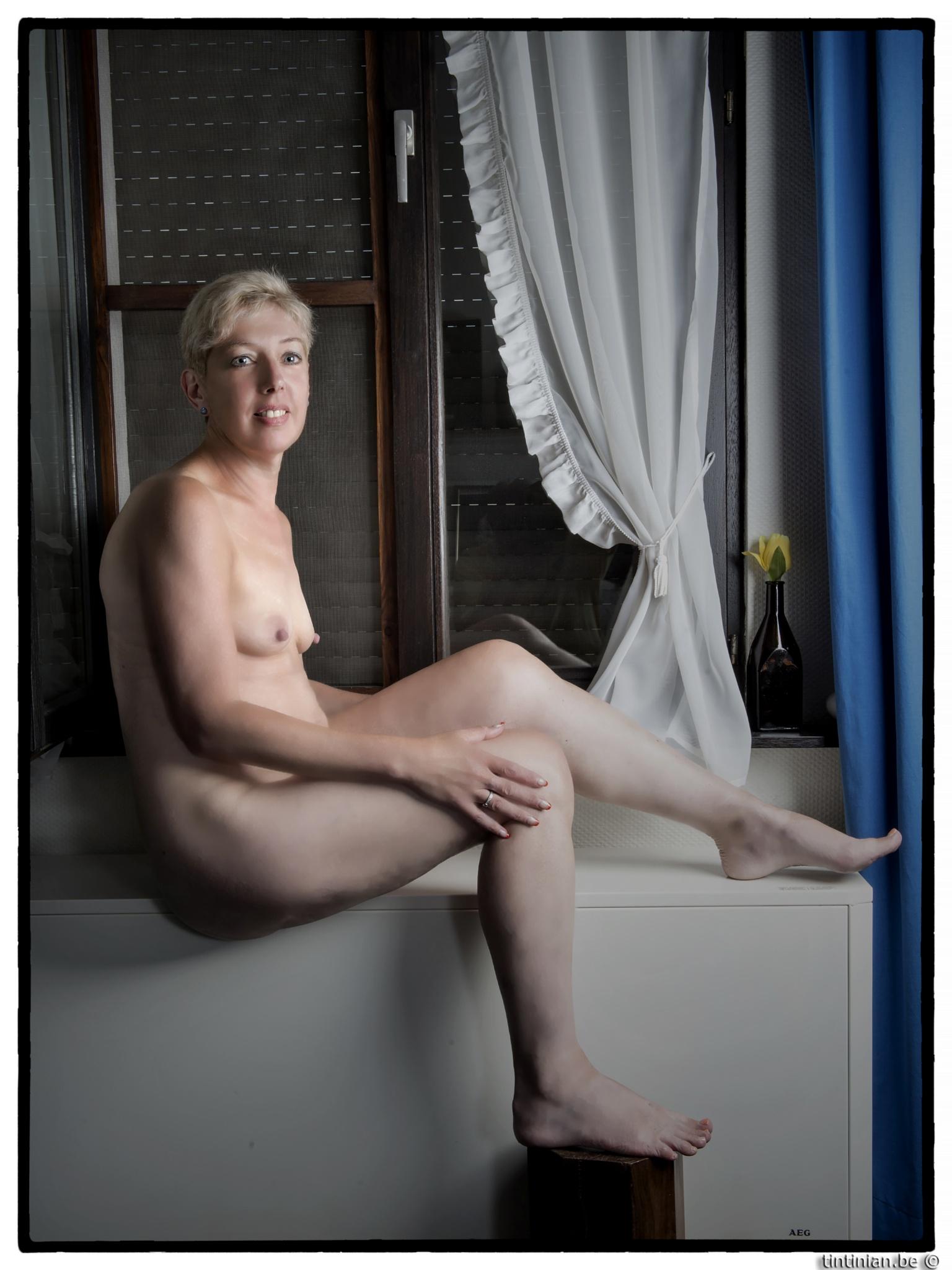 Photo in Nude #martine b. #nude #tintinian