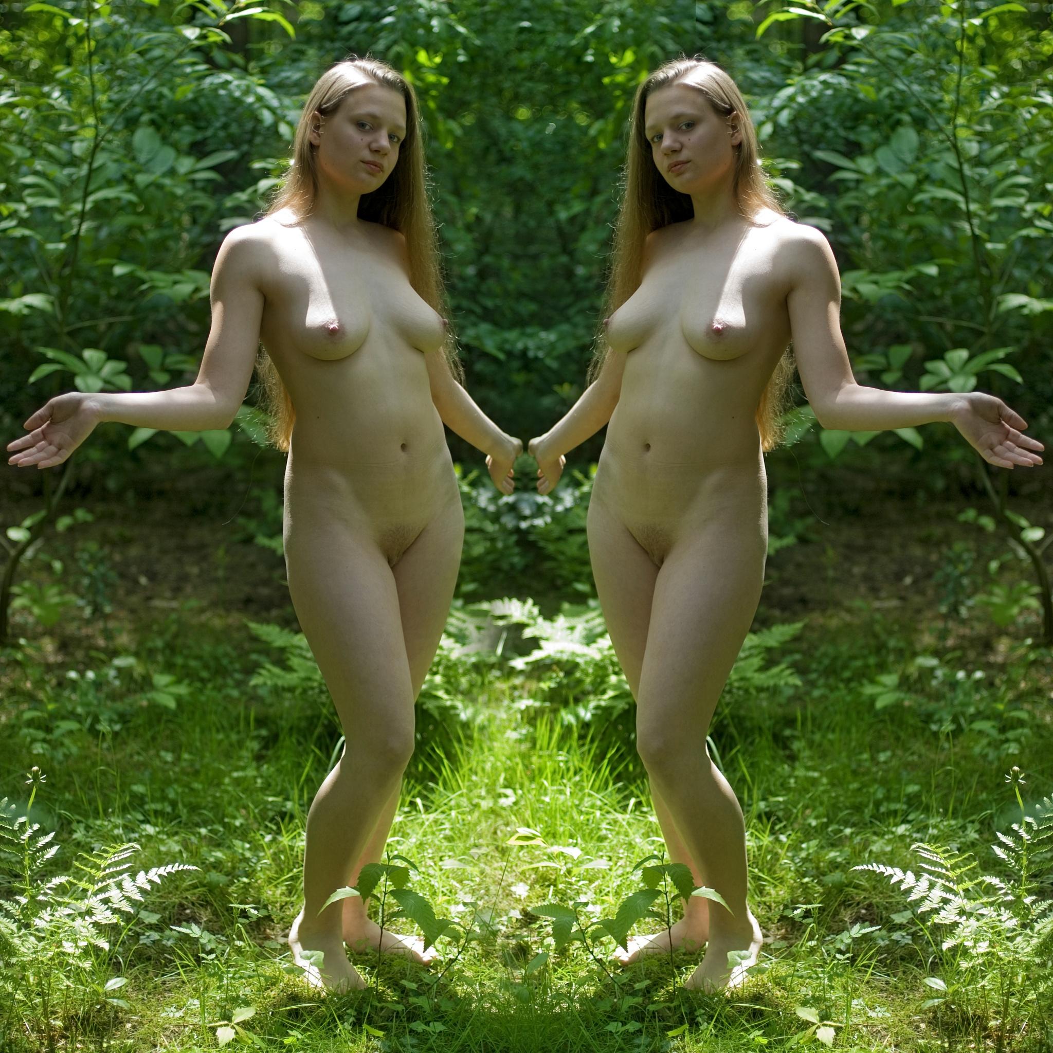 Photo in Nude #lesley #nude #tintinian