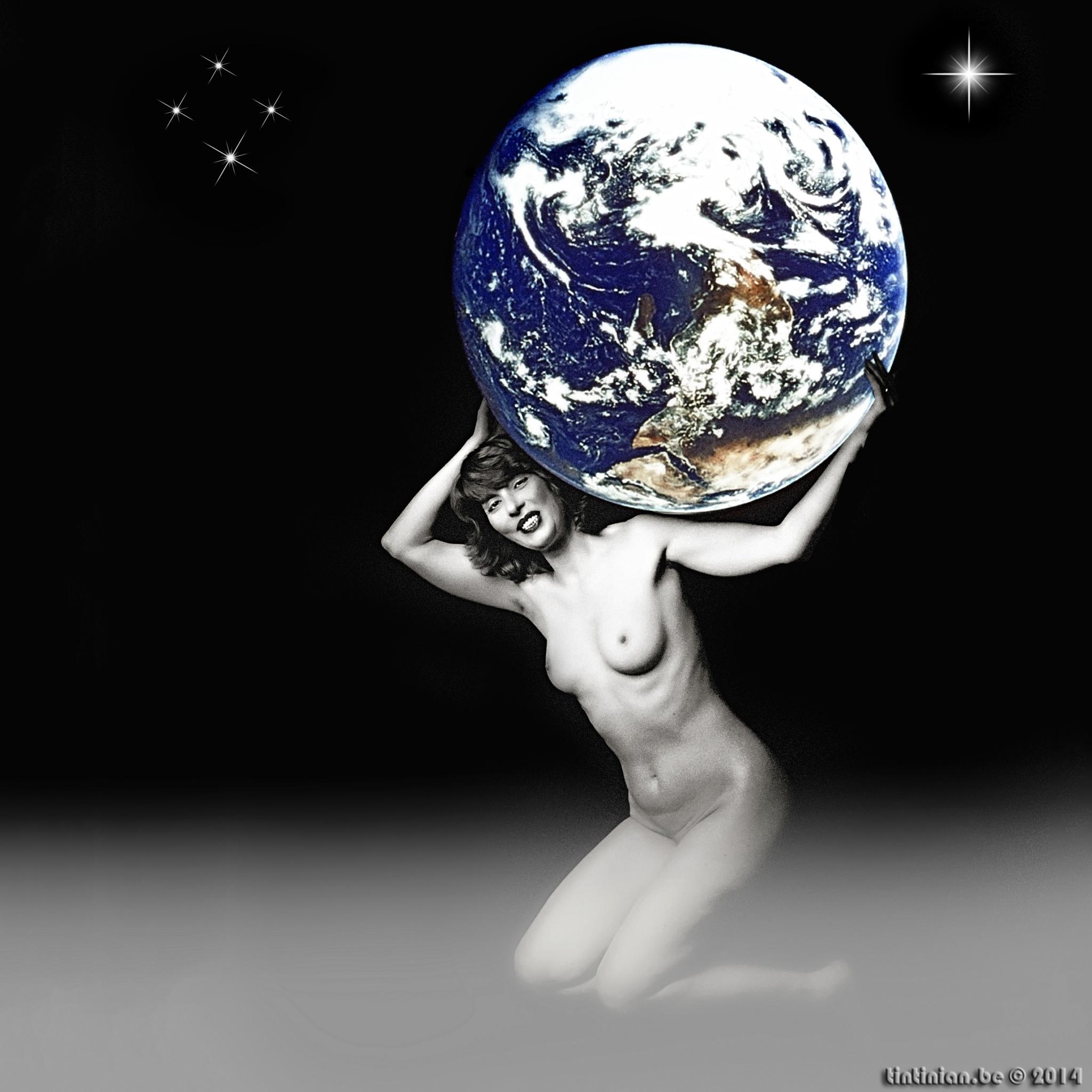Photo in Nude #yvette atlas #earth #tintinian #nude