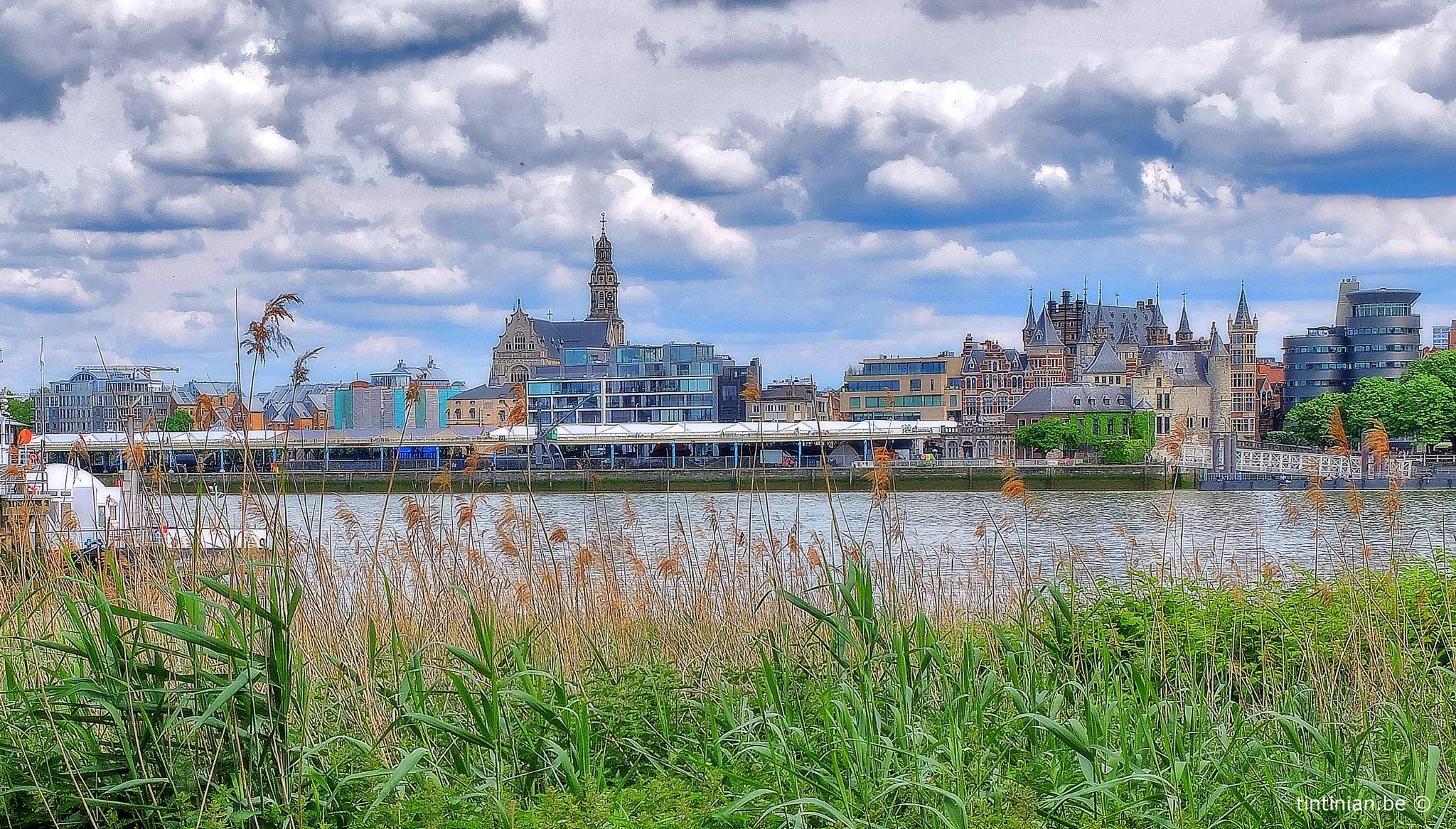 Antwerp Skyline by Etienne de Maeyer
