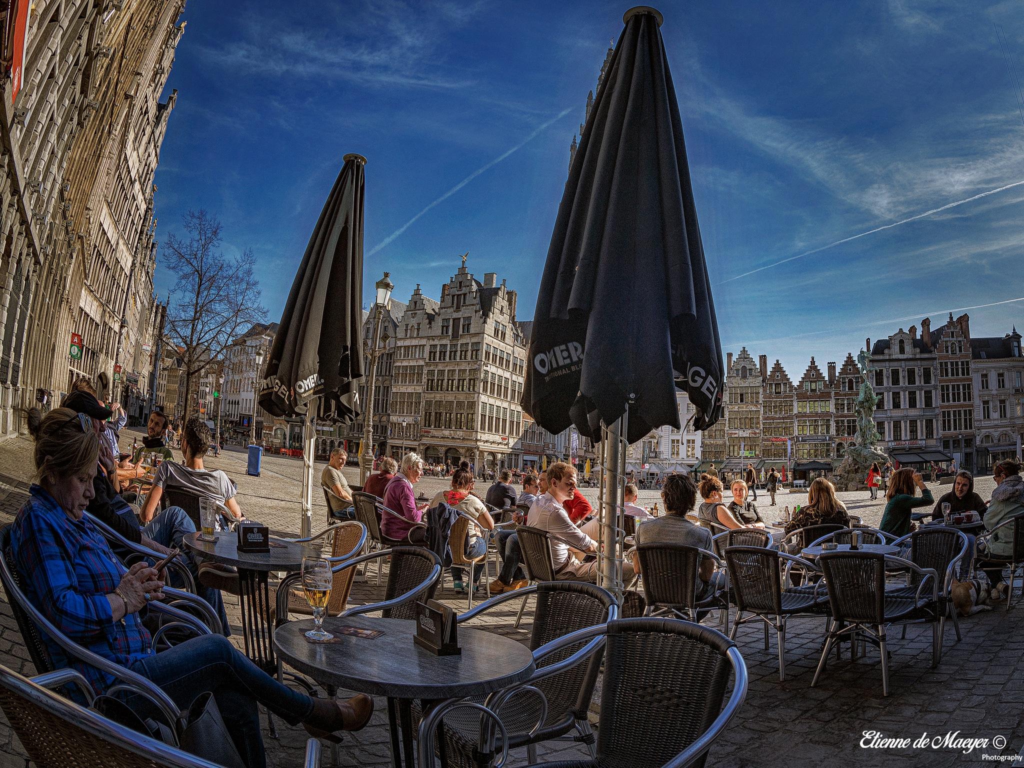 Grote Markt by Etienne de Maeyer