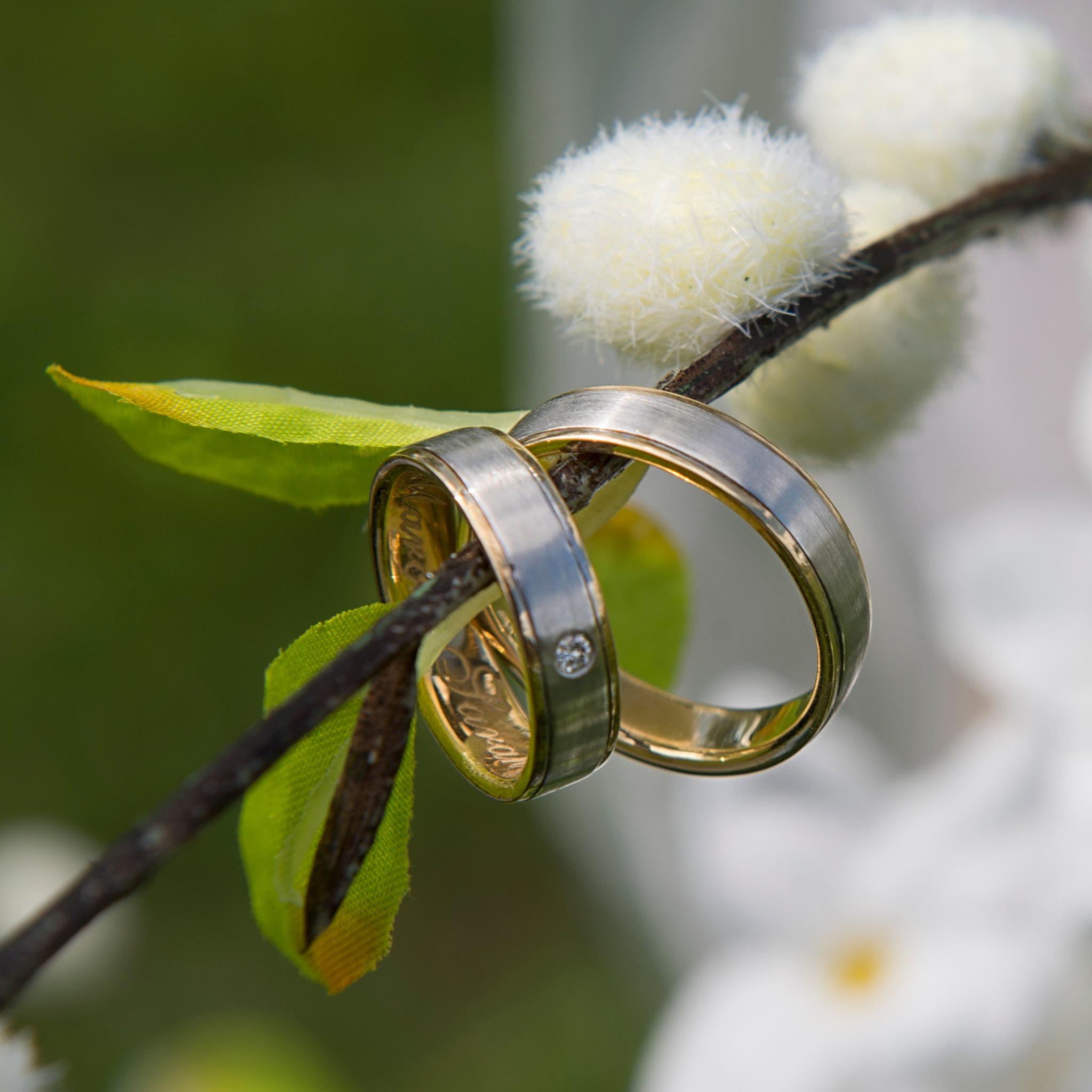 wedding rings by Etienne de Maeyer