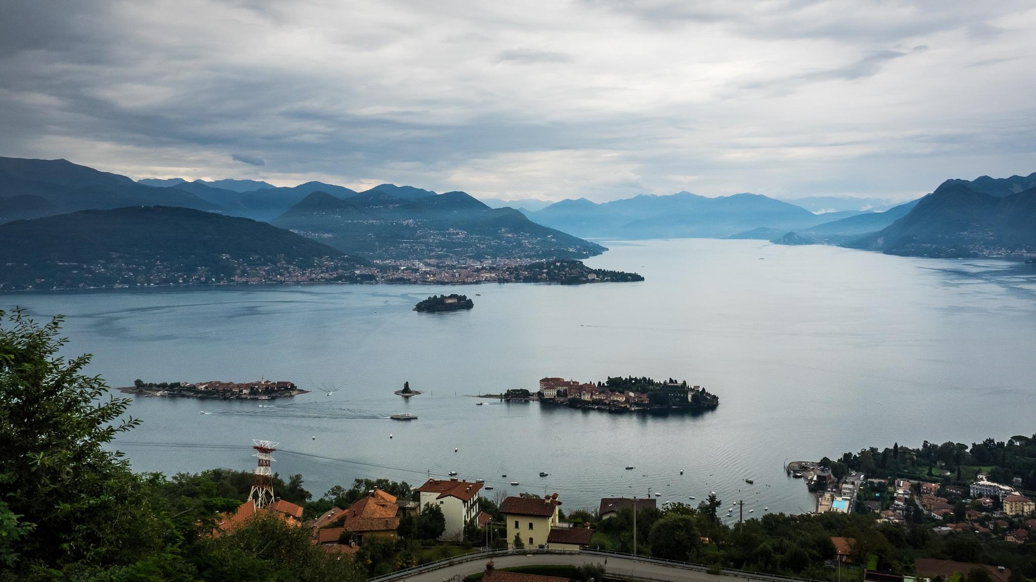 Lago Maggiore by Werner Hofmann
