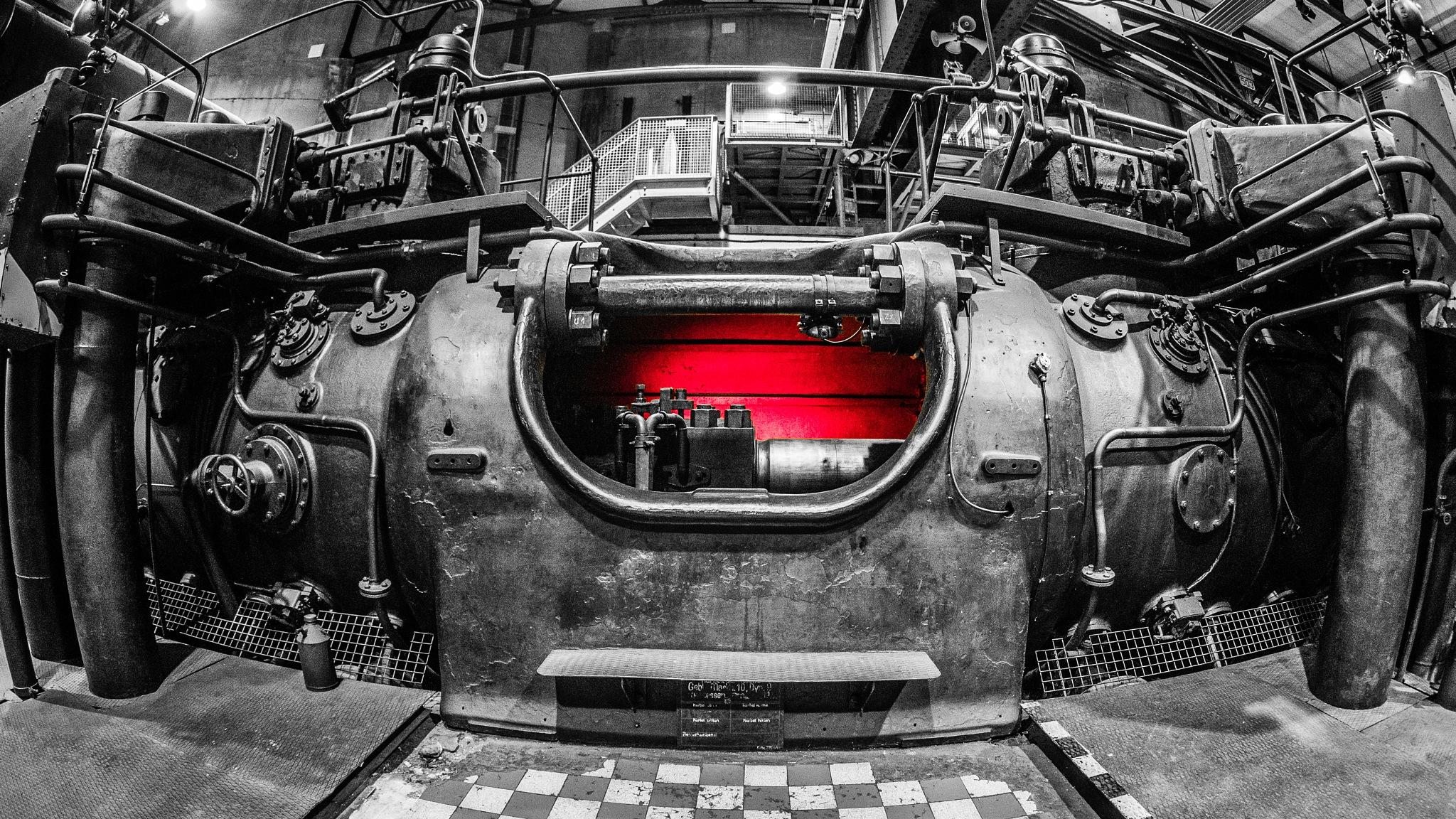 red light inside  by Werner Hofmann