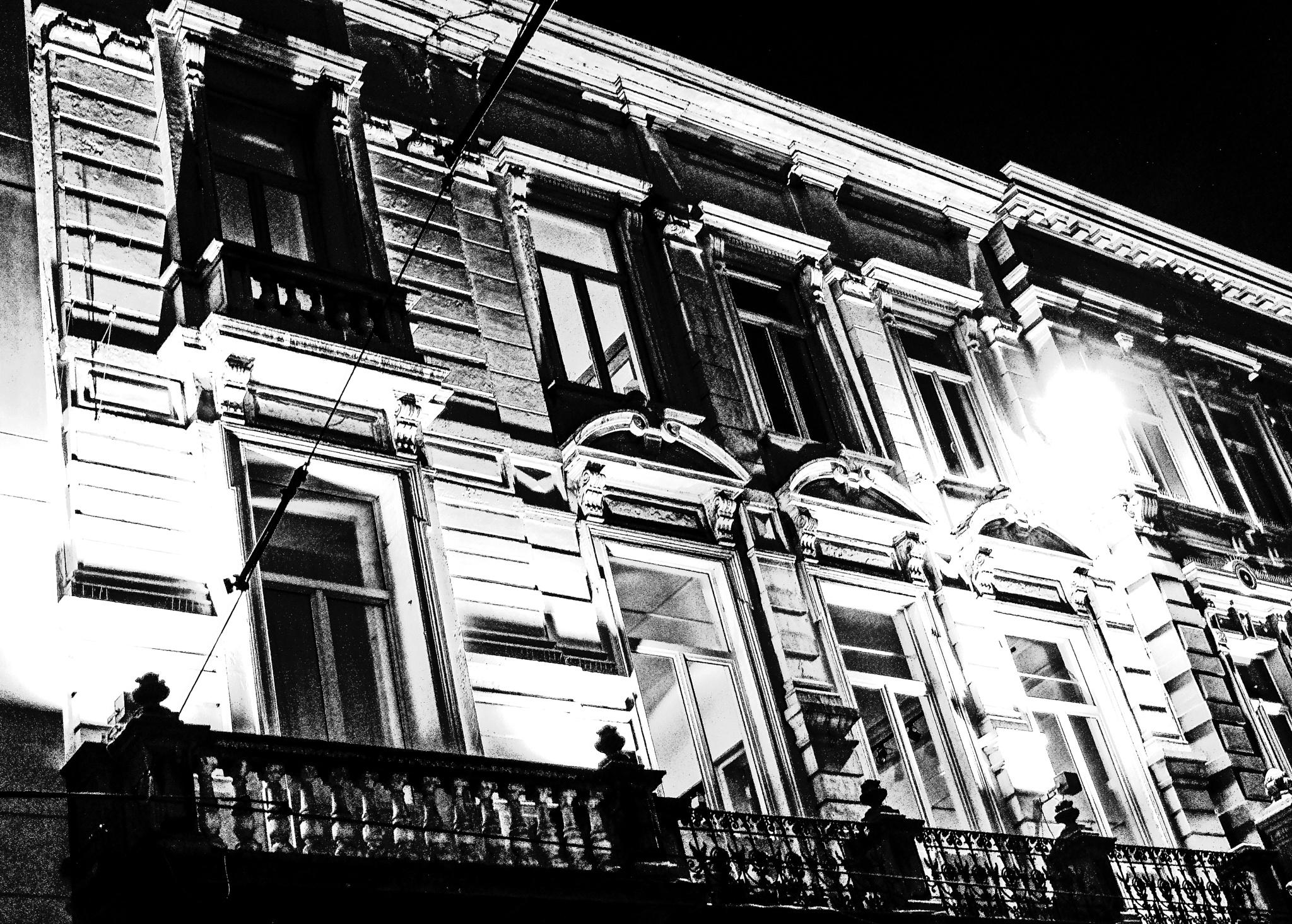 Ghent at night by Martine GLASMACHER