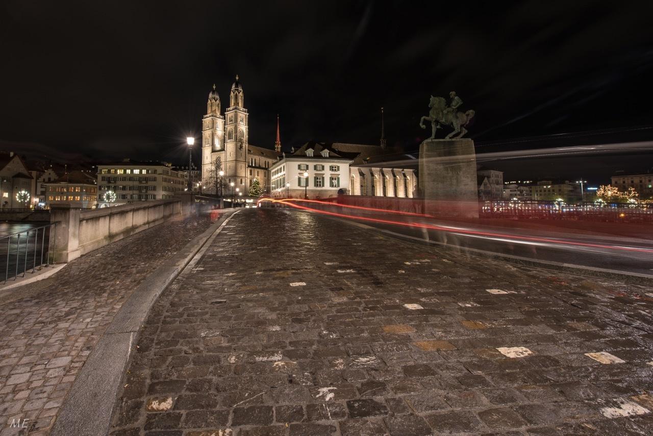Zürich bei Nacht by Bilderknipser