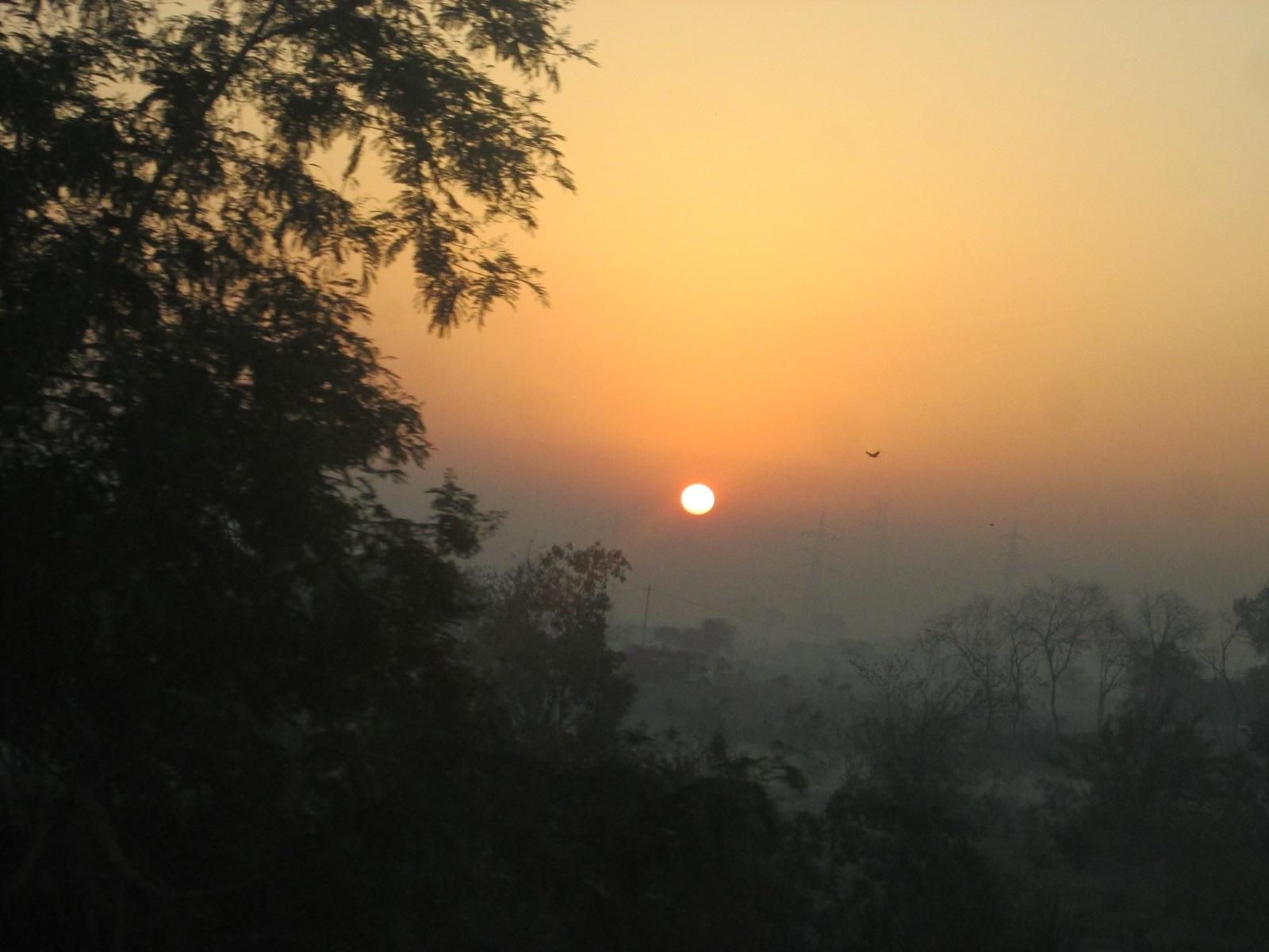 sun rise! by Slow Shutter By Tanishq Monga
