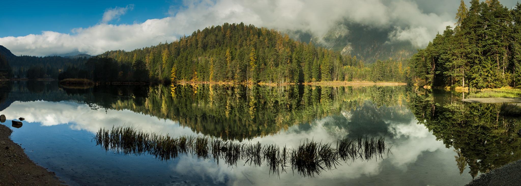 Fall Lake by Walter Quirtmair
