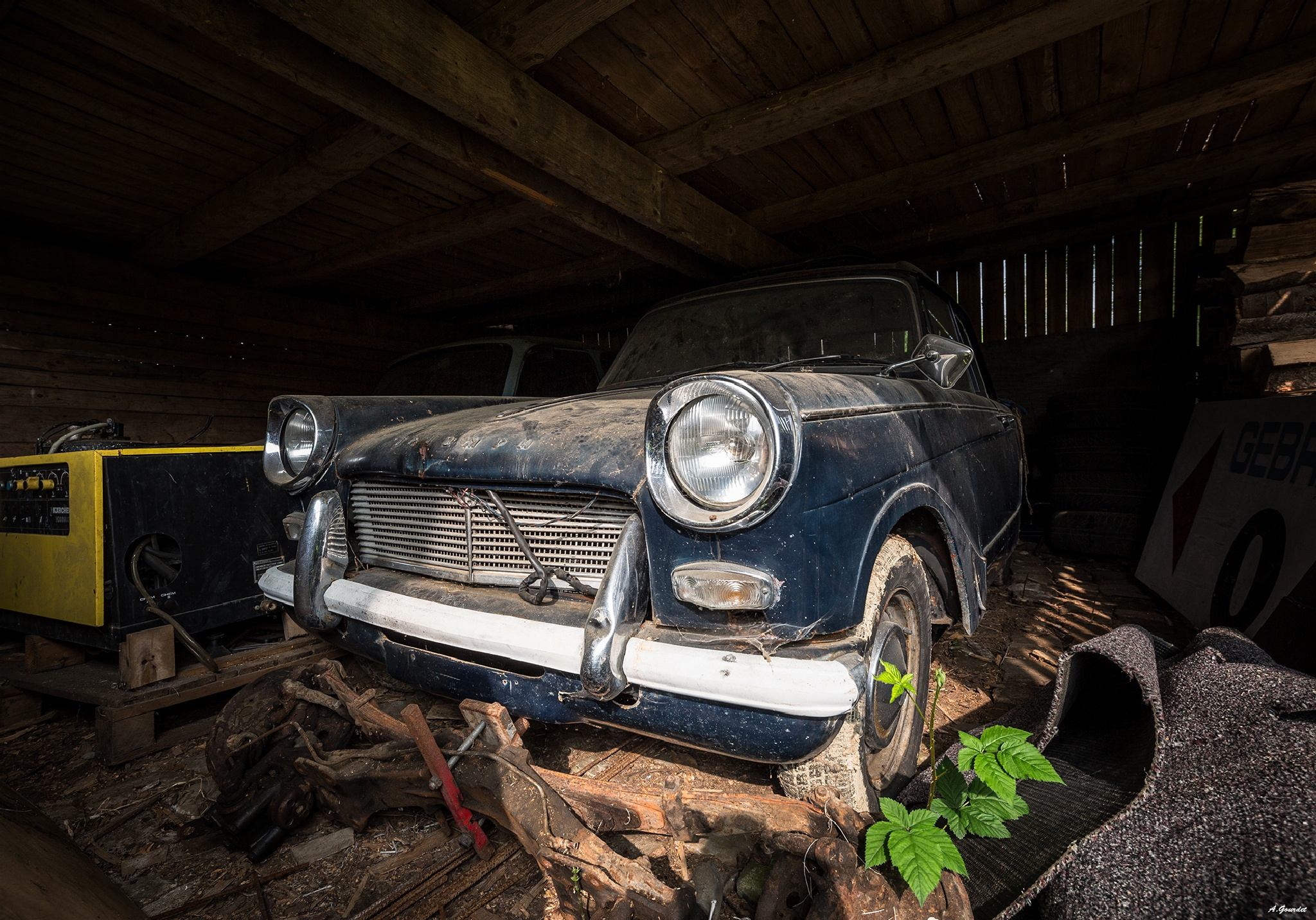 Abandonned Triumph Herald. by anthonygourdet3