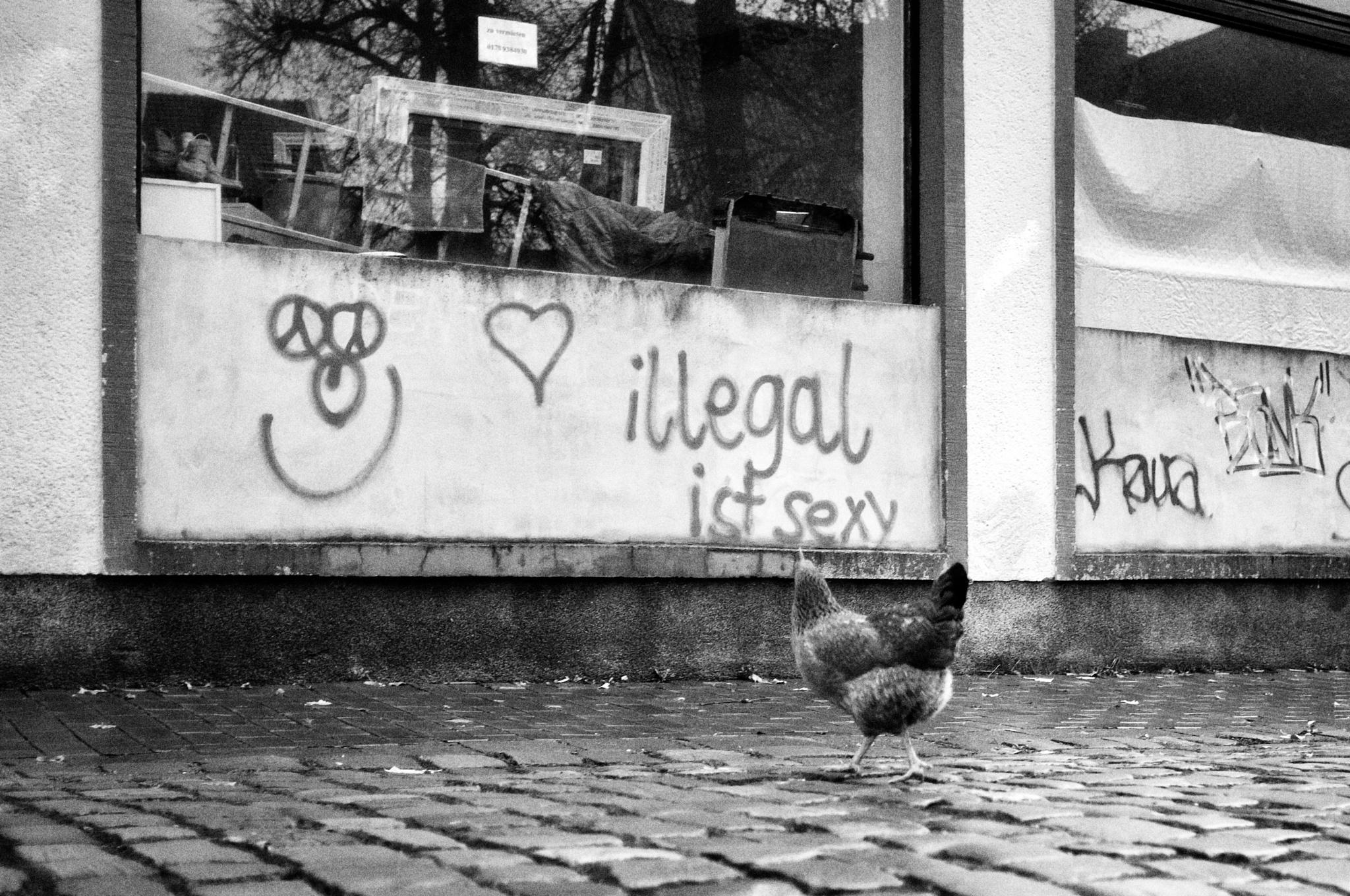 Illegal ist sexy by peterkryzun