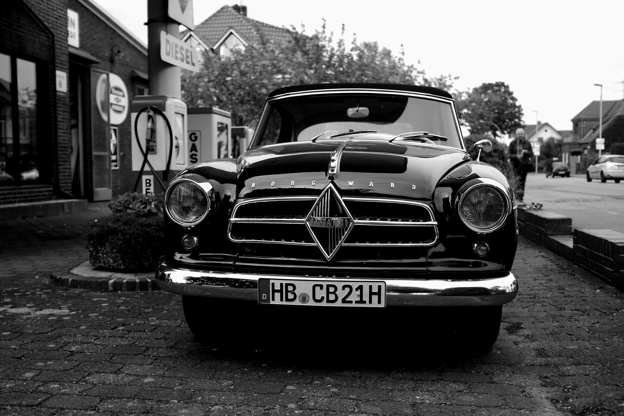 Driving A Borgward by peterkryzun
