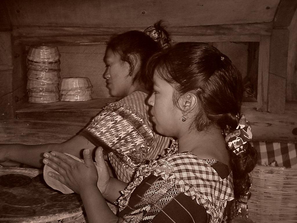 GIRLS IN A KITCHEN by Fabio Ernesto Francesco Magni