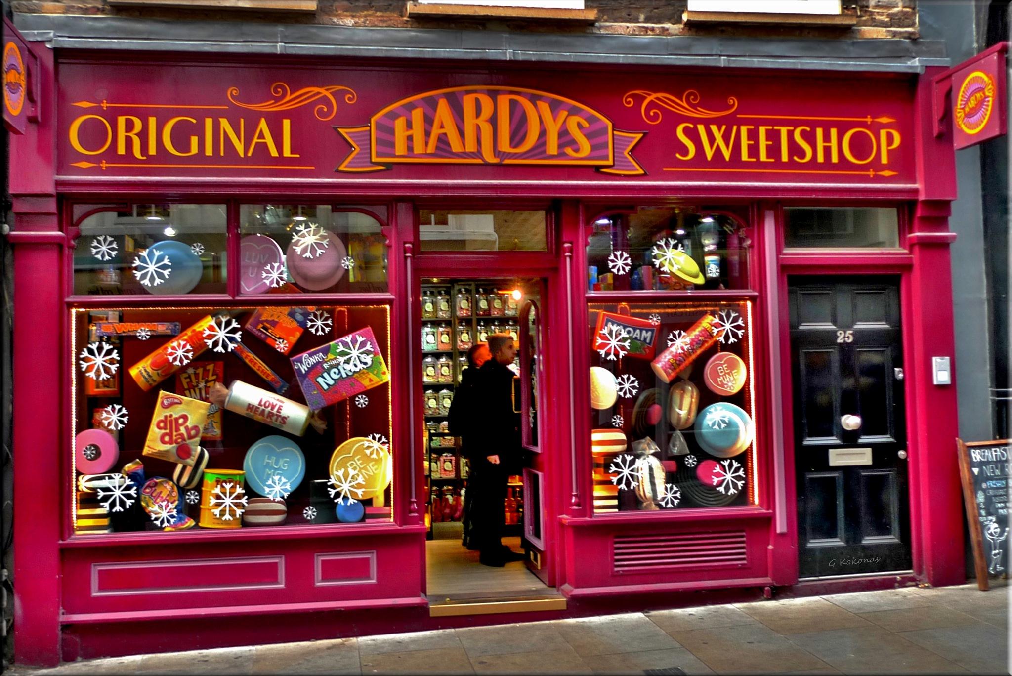 Hardys  a British sweetshop !!! by Kokonas George