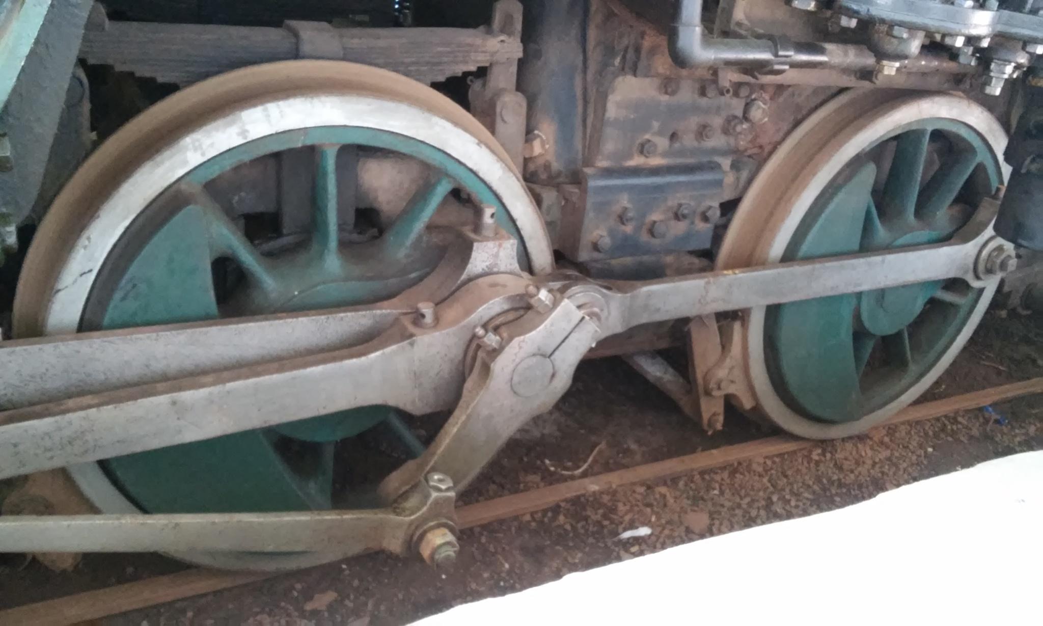 Detalhe II / Museu Ferroviário Regional de Bauru by Hakan Somali