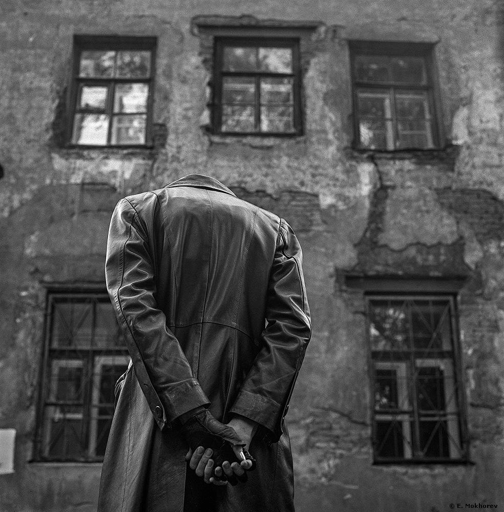 Windows (Nastya). St. Petersburg, 2004. by Evgeny Mokhorev
