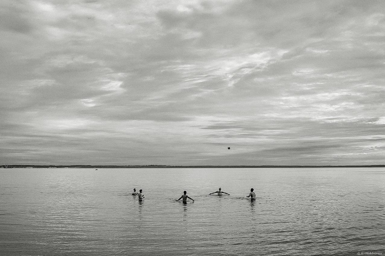 The Gulf of Finland, july 2017. by Evgeny Mokhorev