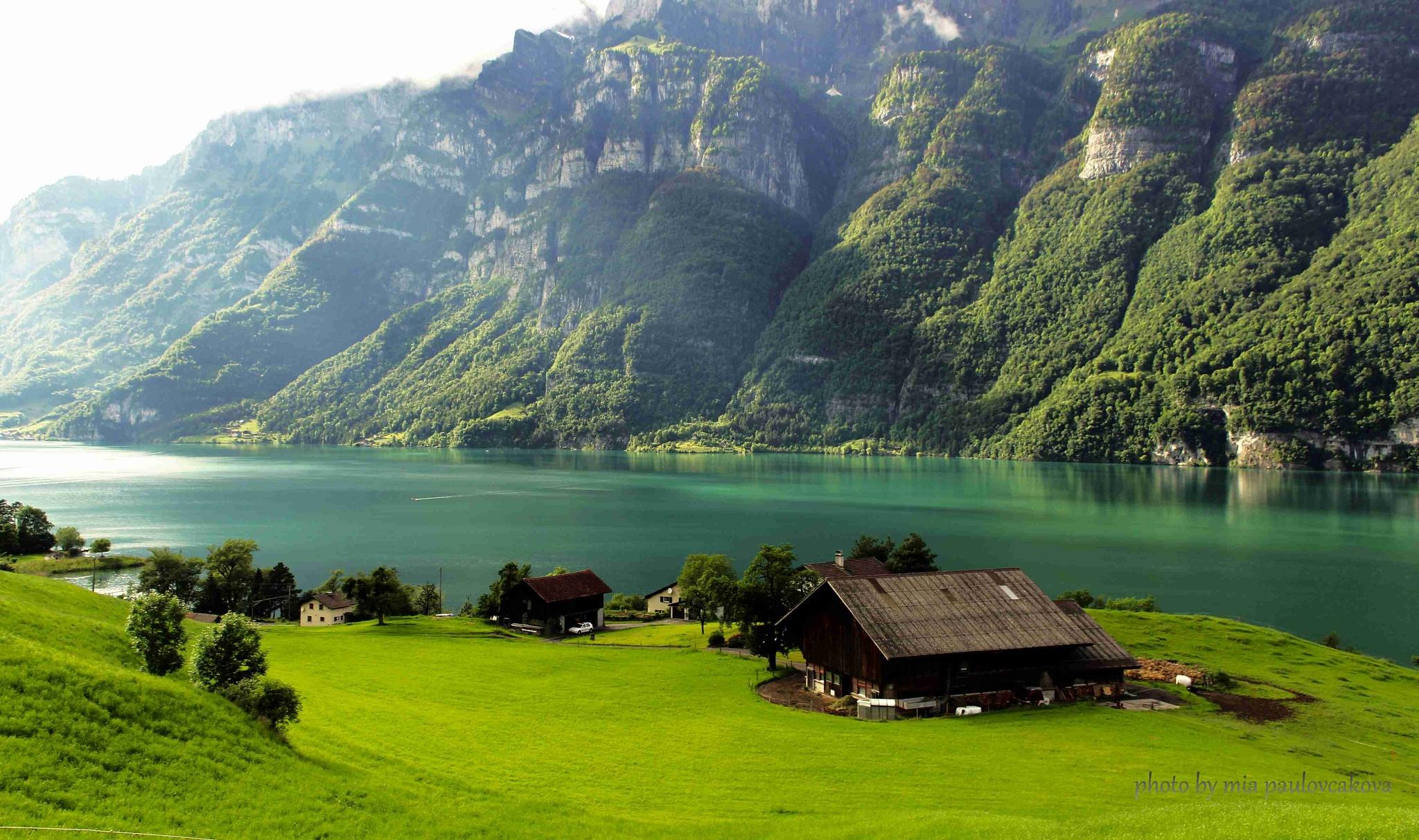 Photo in Landscape #lake #nature