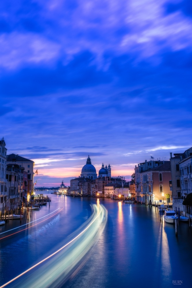 Blue Hour in Venice by BurnPhotography