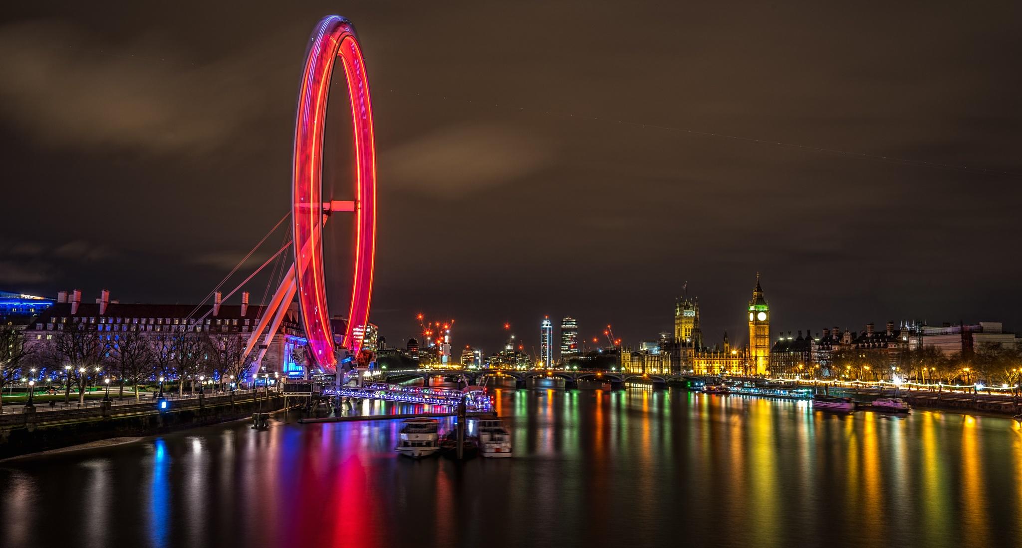 London Eye by Skapenas