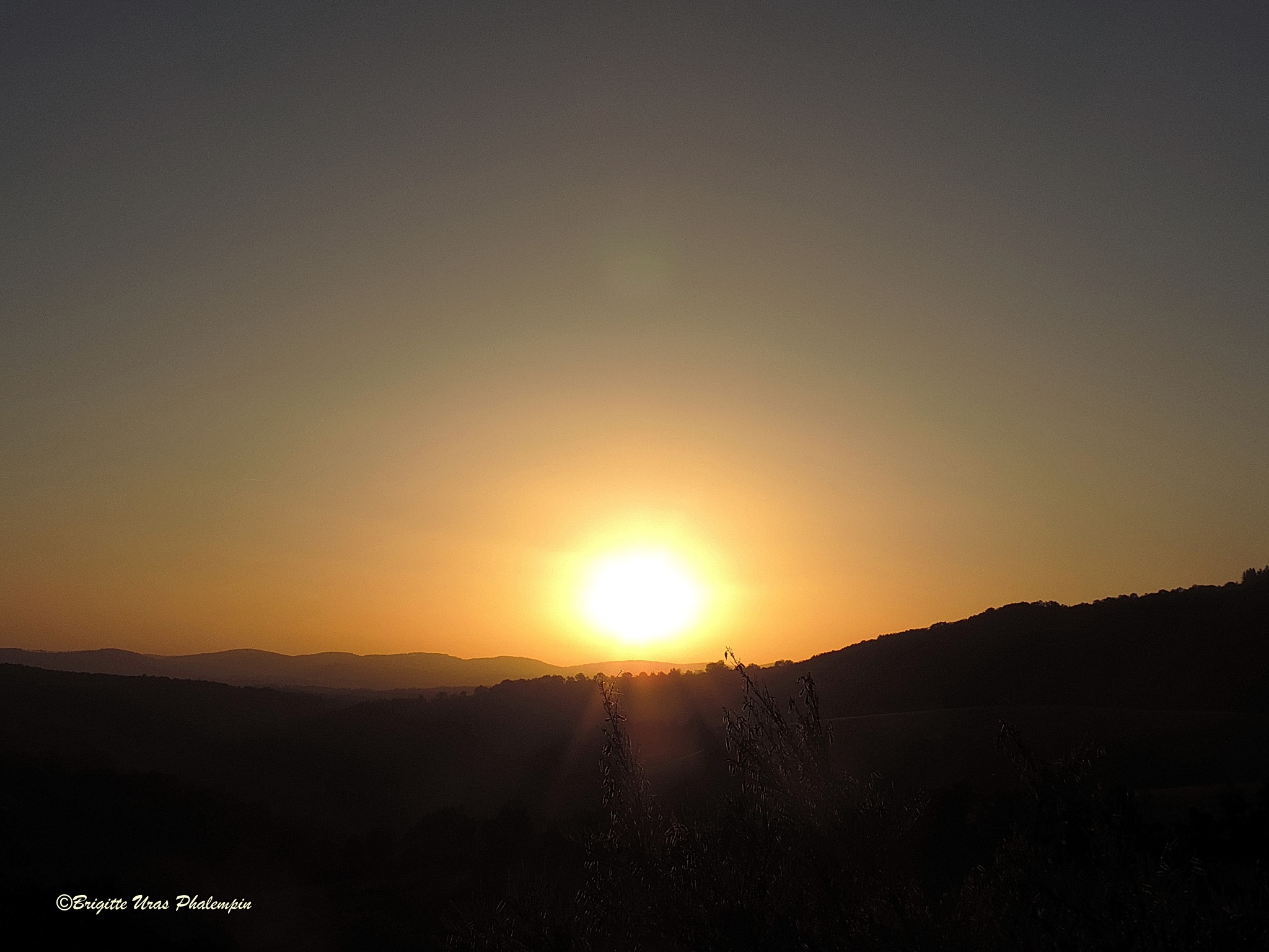 Le lever du soleil         by Brigitte Uras