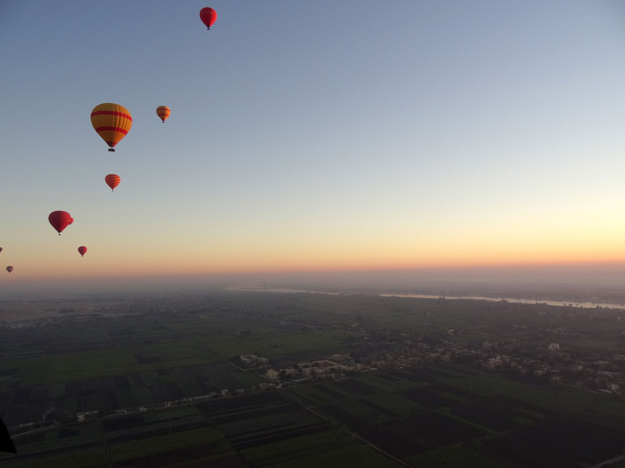 Hot Air Balloons over the Nile by stargazingadventures