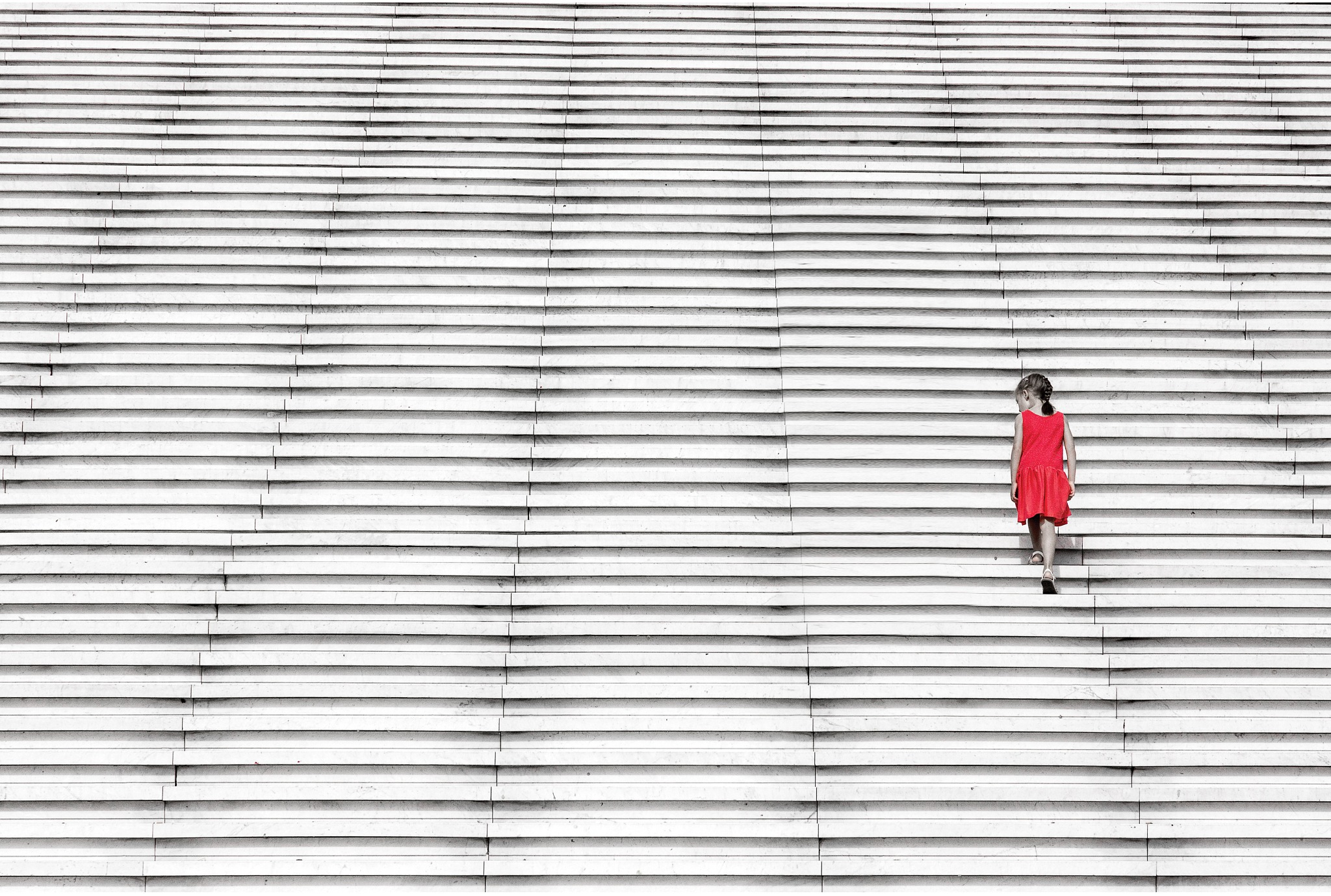 The girl in red ... 1 by ignacy50