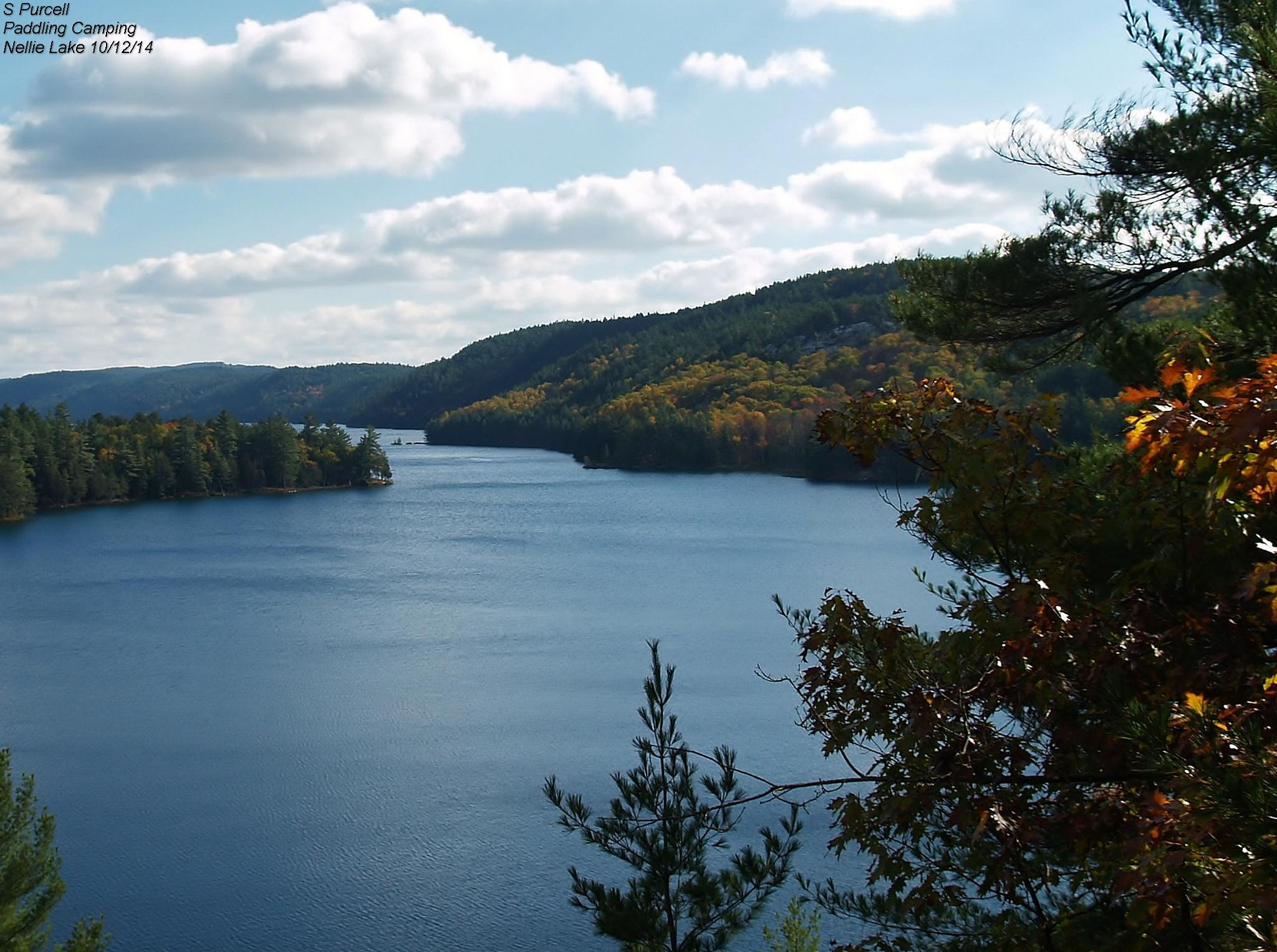 La Cloche Mountains at Nellie Lake by Sean Purcell
