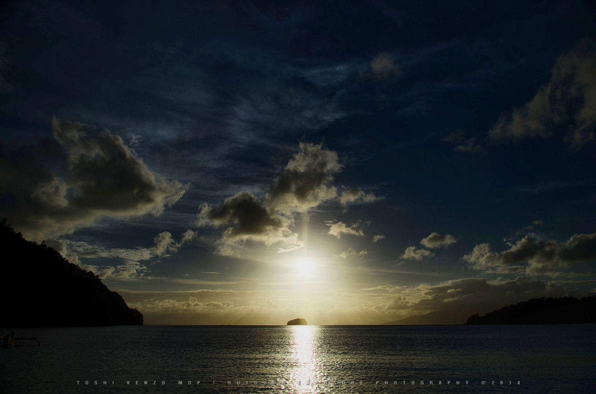 Sunset from Wallo Island, Raja Ampat, West Papua.. by TOSHI KENZO MDP™