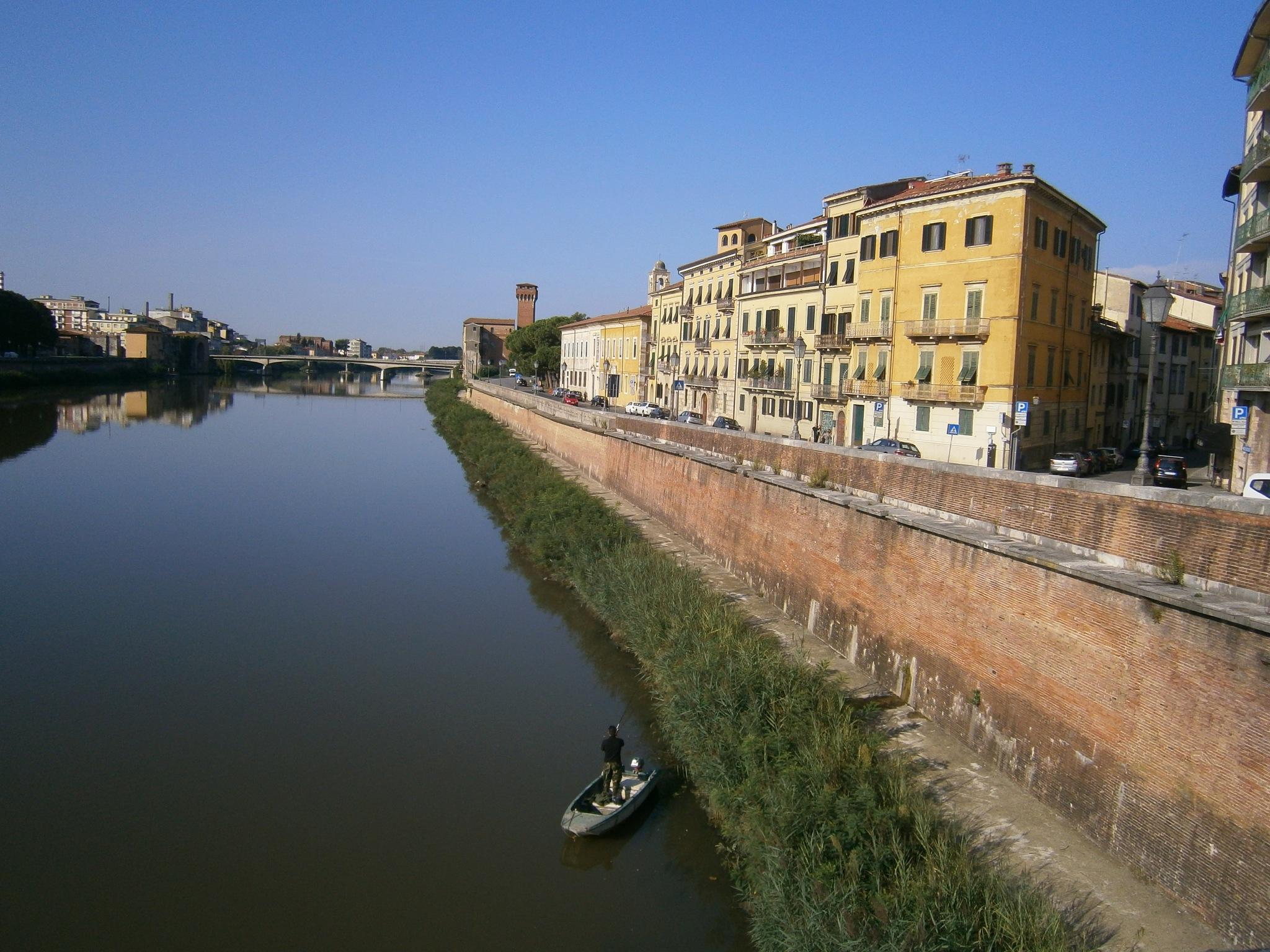 Pisa - Italy by Roberto Bortolotto
