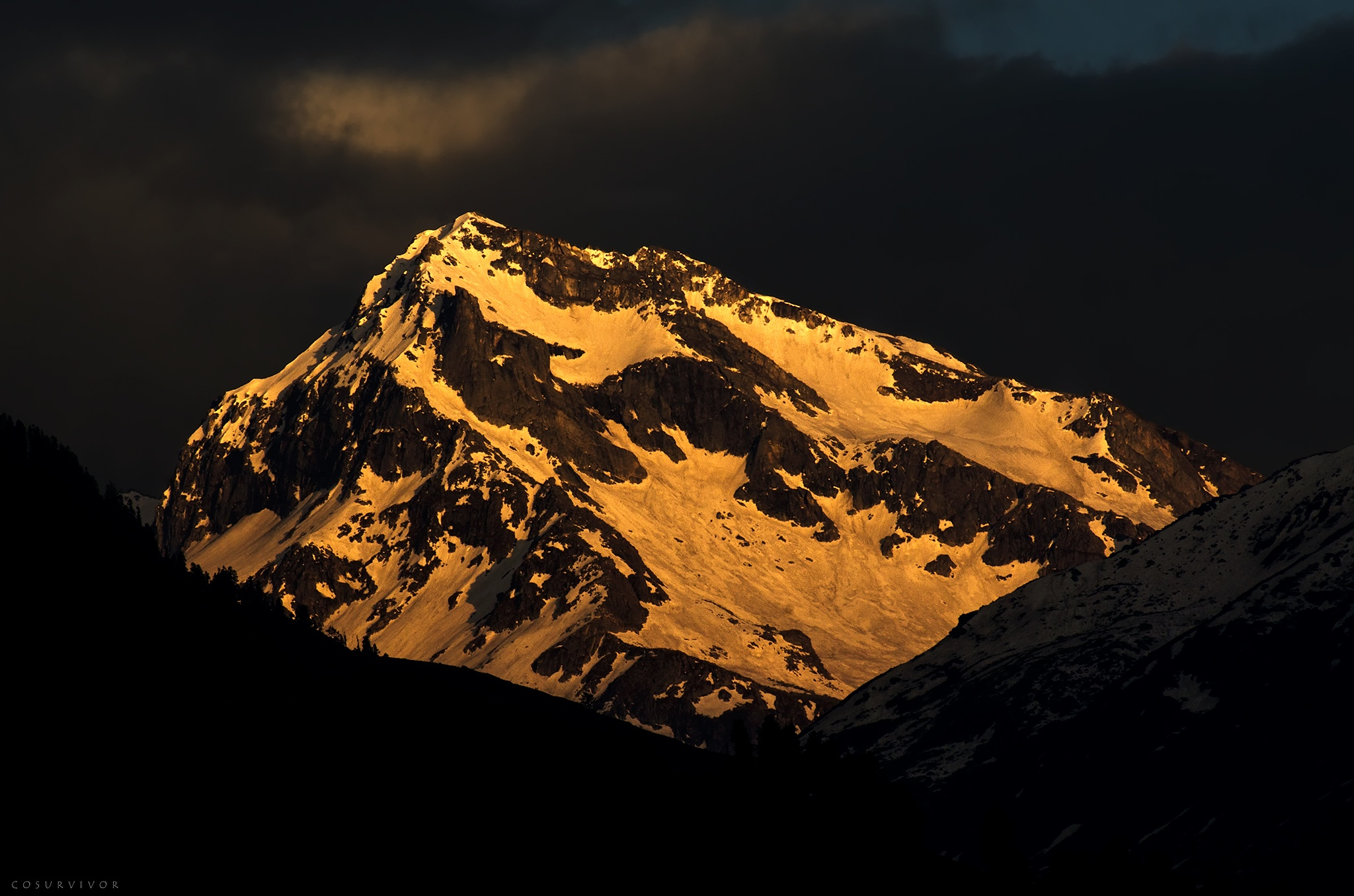only the mountain remained.... by Rohit
