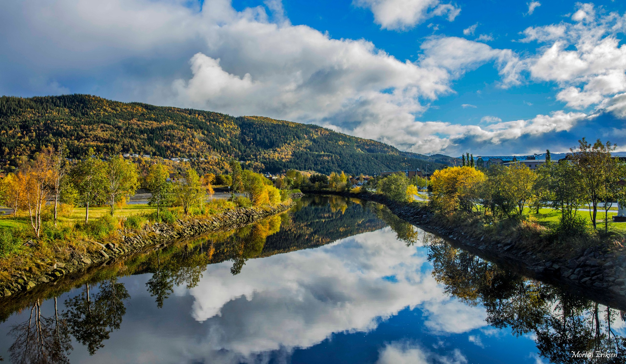 Autumn is here by Morten Eriksen
