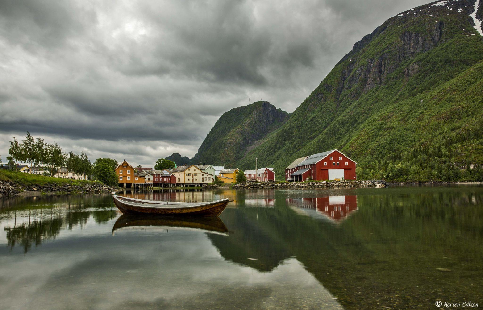 Bordvedneset, Mosjøen. by Morten Eriksen