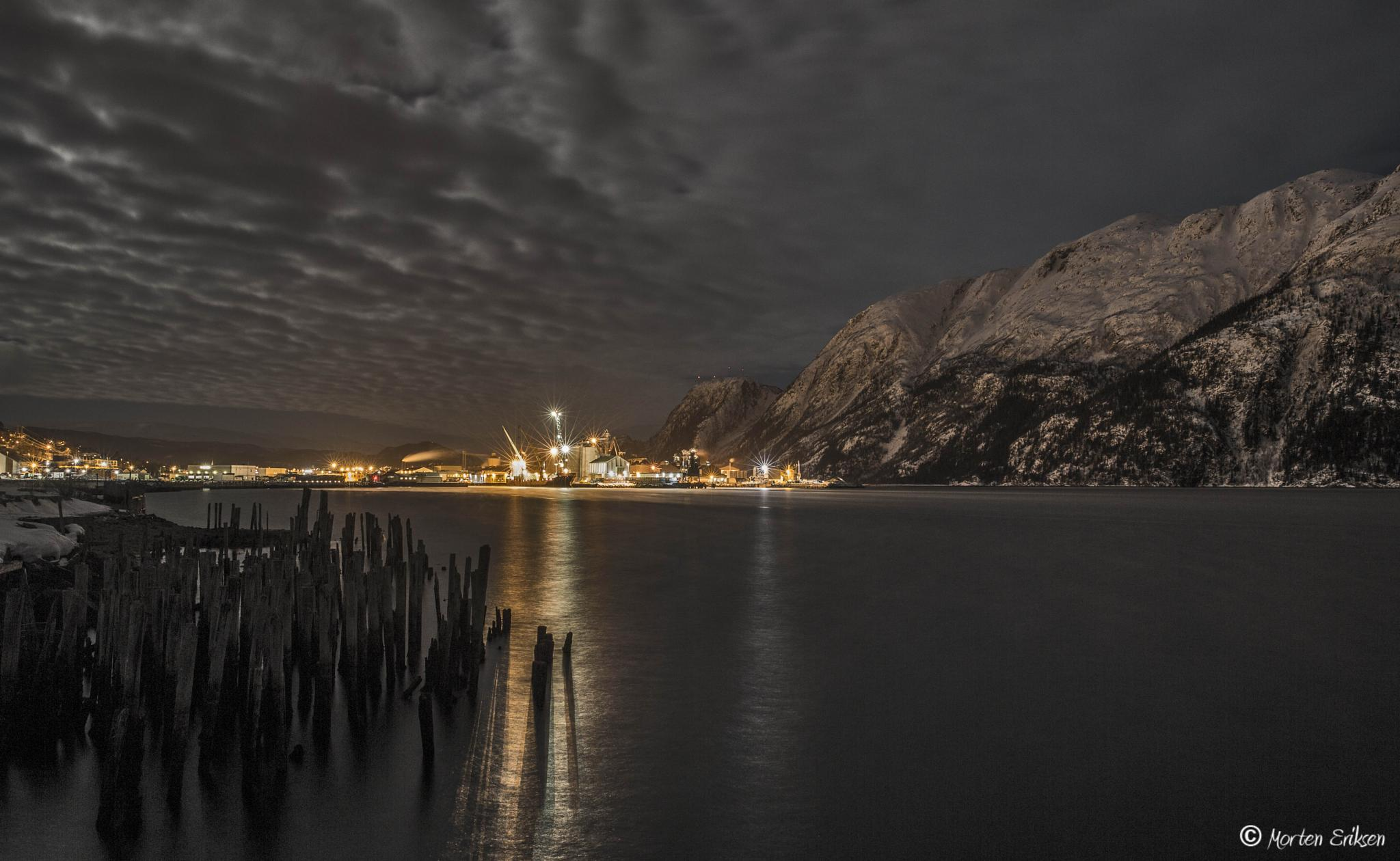 Harbour in Mosjøen, Norway by Morten Eriksen