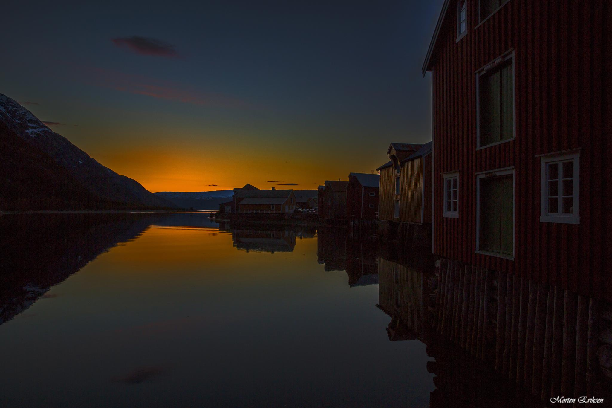 Sjøgata, Mosjøen by Morten Eriksen