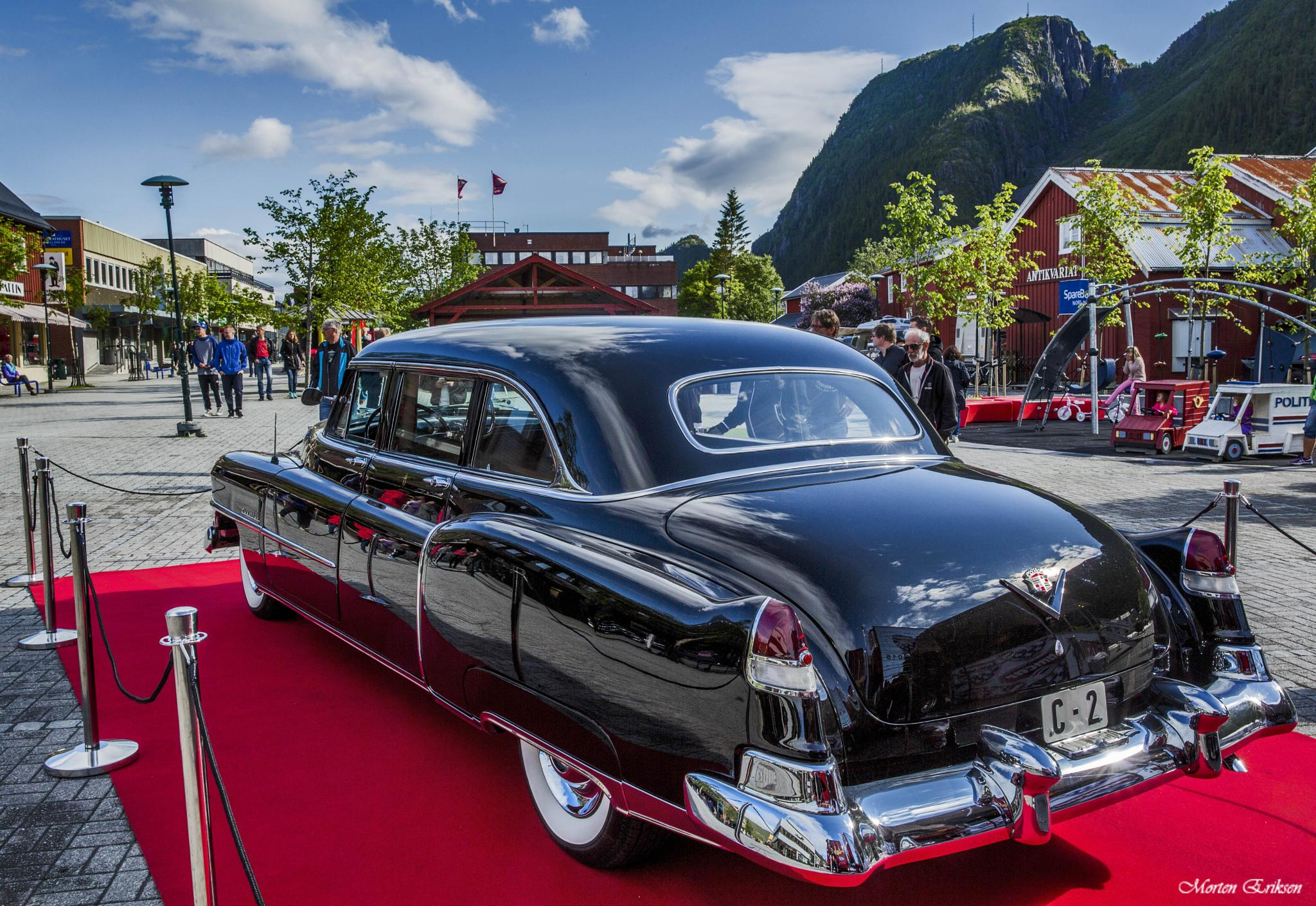 Caddilac -51, once owned by King Olav, Norway by Morten Eriksen