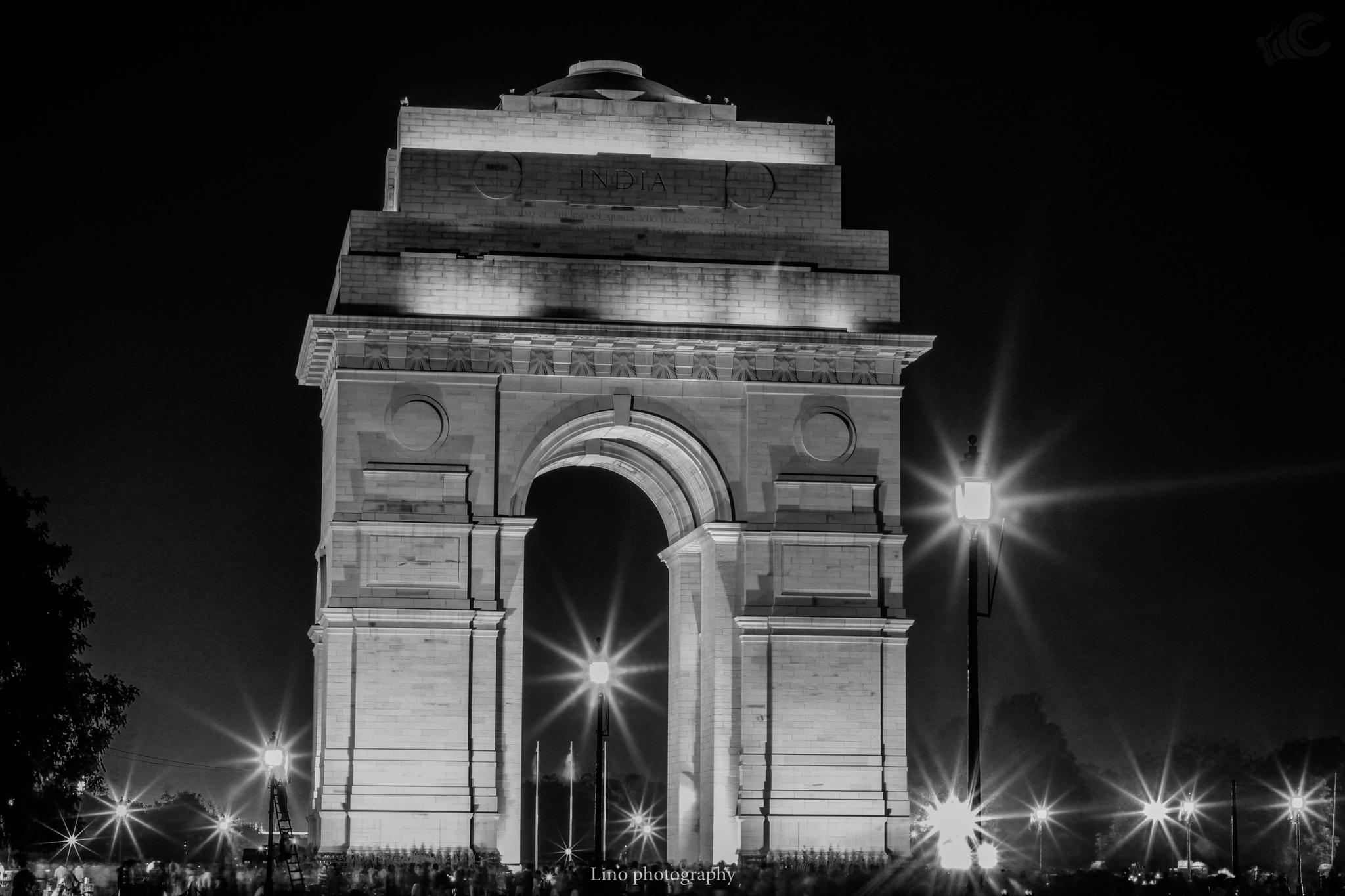 INDIAGATE by Lino jacob